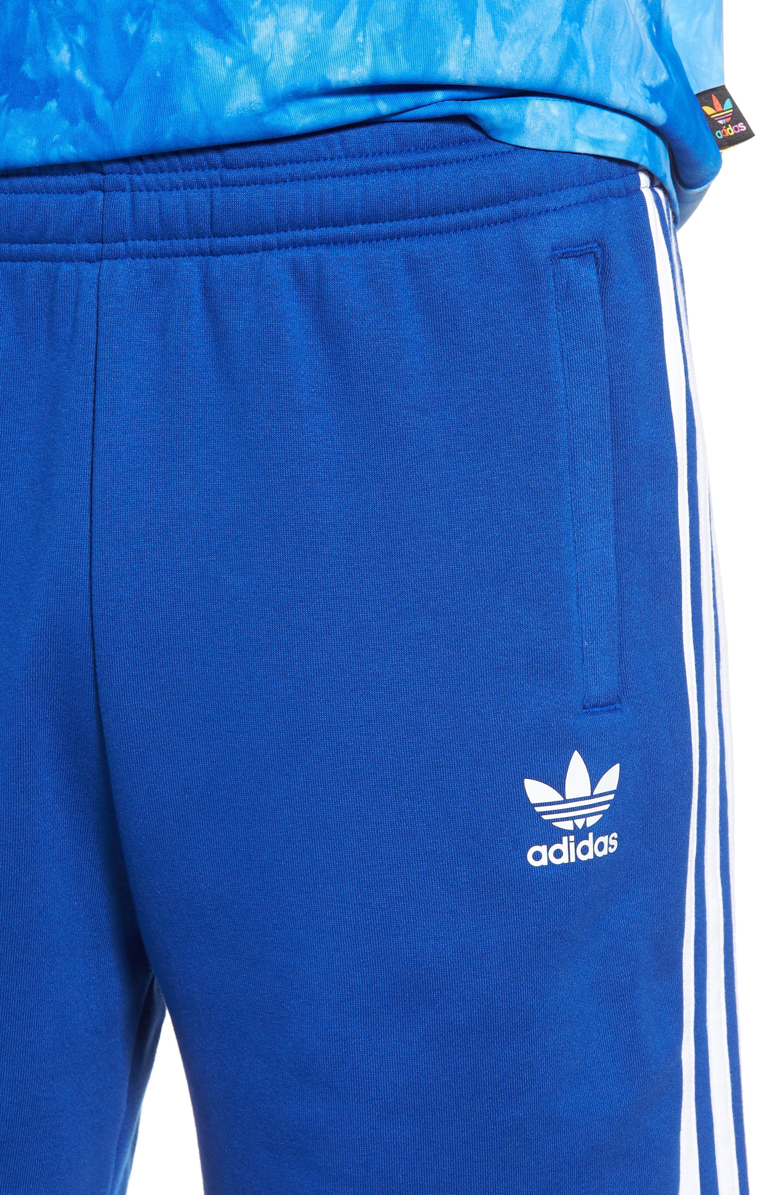 Alternate Image 4  - adidas Originals 3-Stripes Shorts