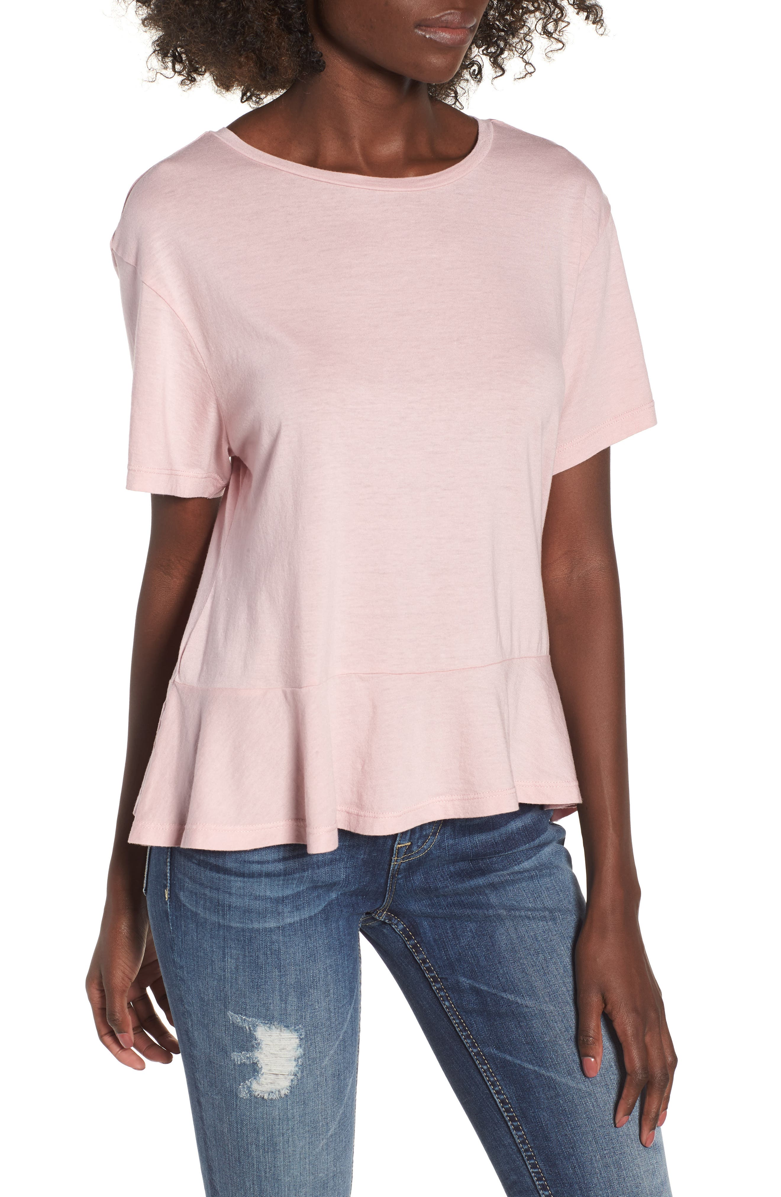 Cheap Price Top Quality Modern Tee - Pink Lily Modern Tee by VIDA VIDA Free Shipping Best Sale Sale Store xUNeFvO0