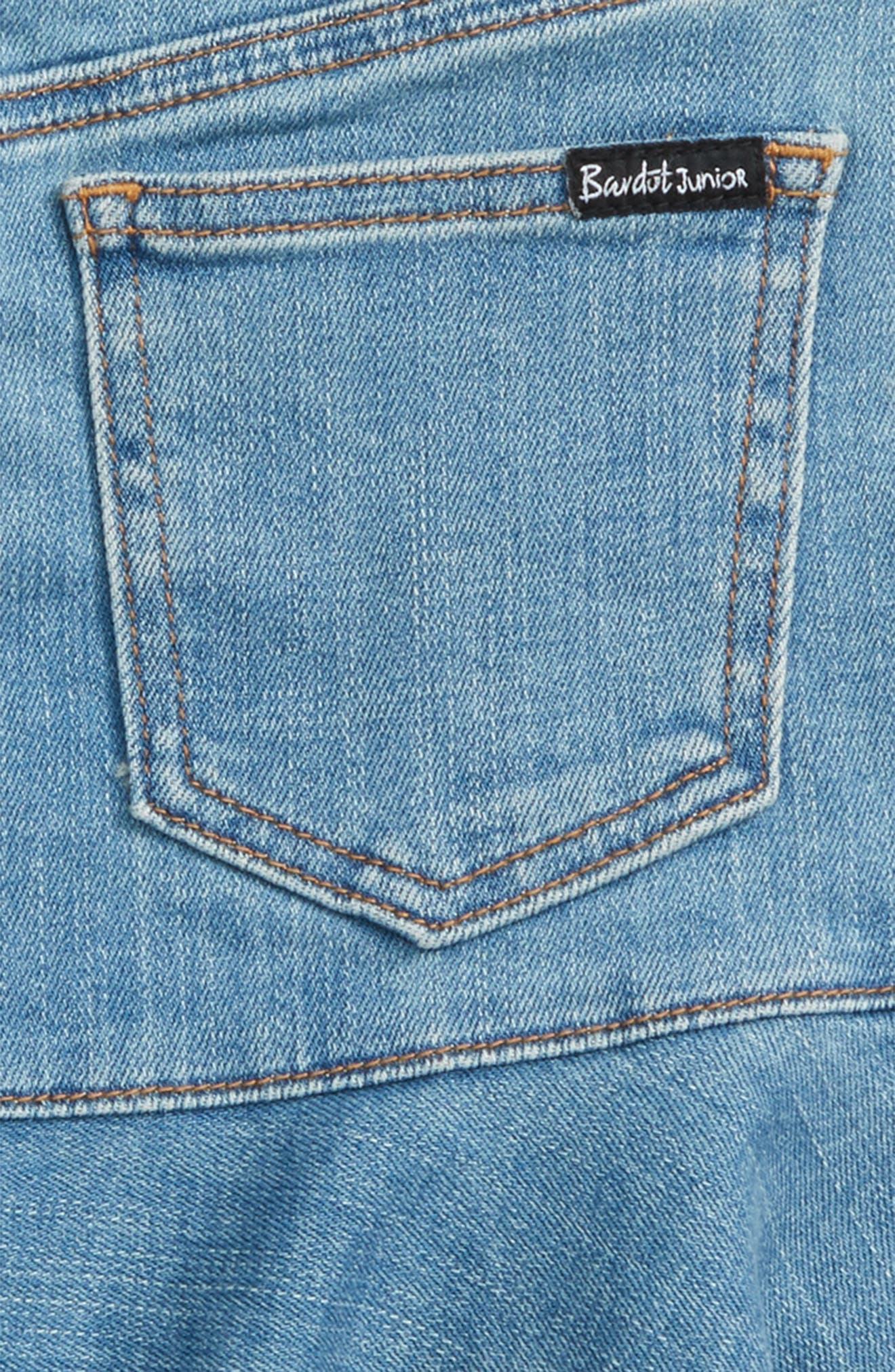 Mia Denim Skirt,                             Alternate thumbnail 3, color,                             Vintage Wash