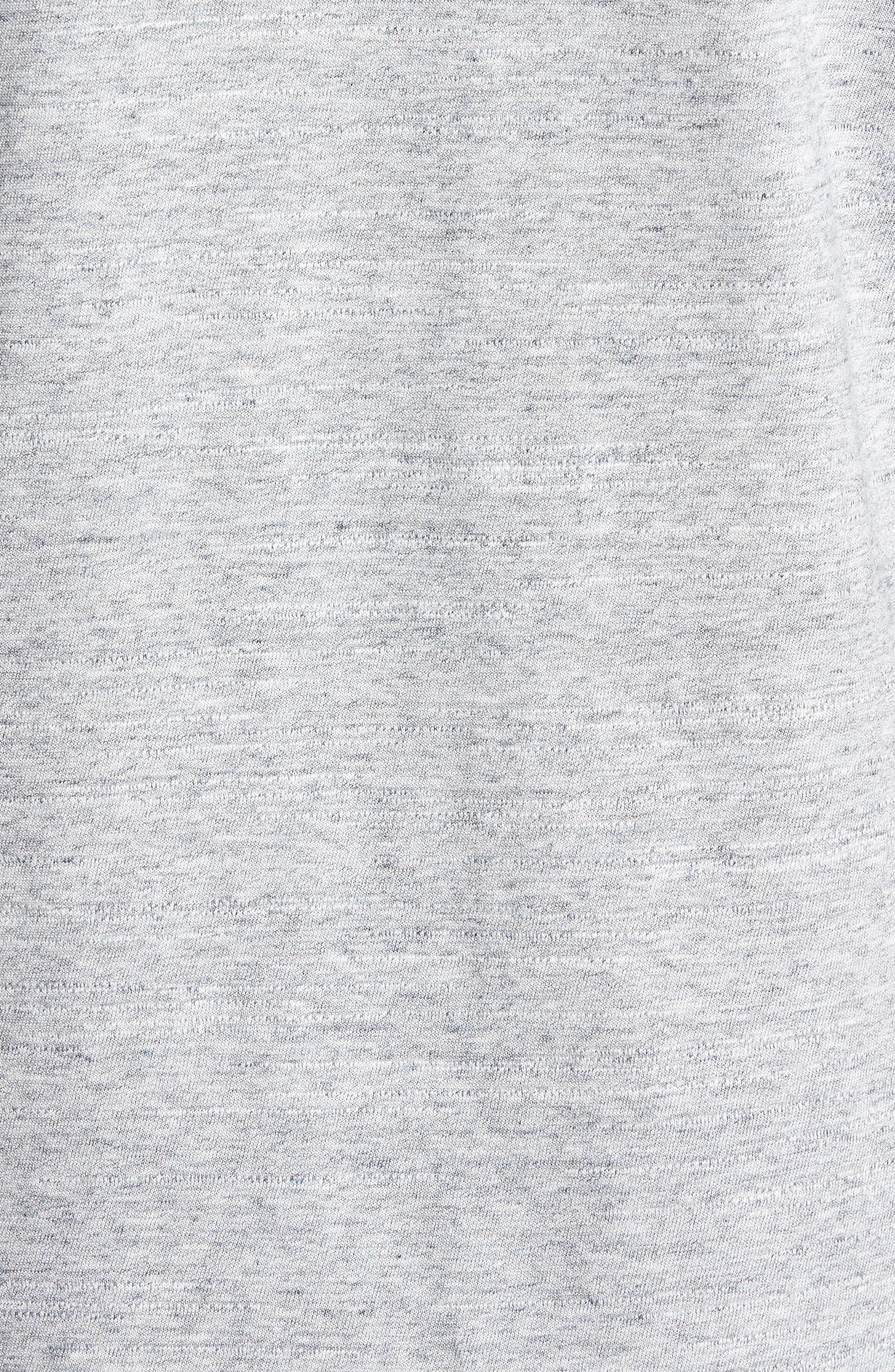 Dohnny Crewneck T-Shirt,                             Alternate thumbnail 5, color,                             Grey