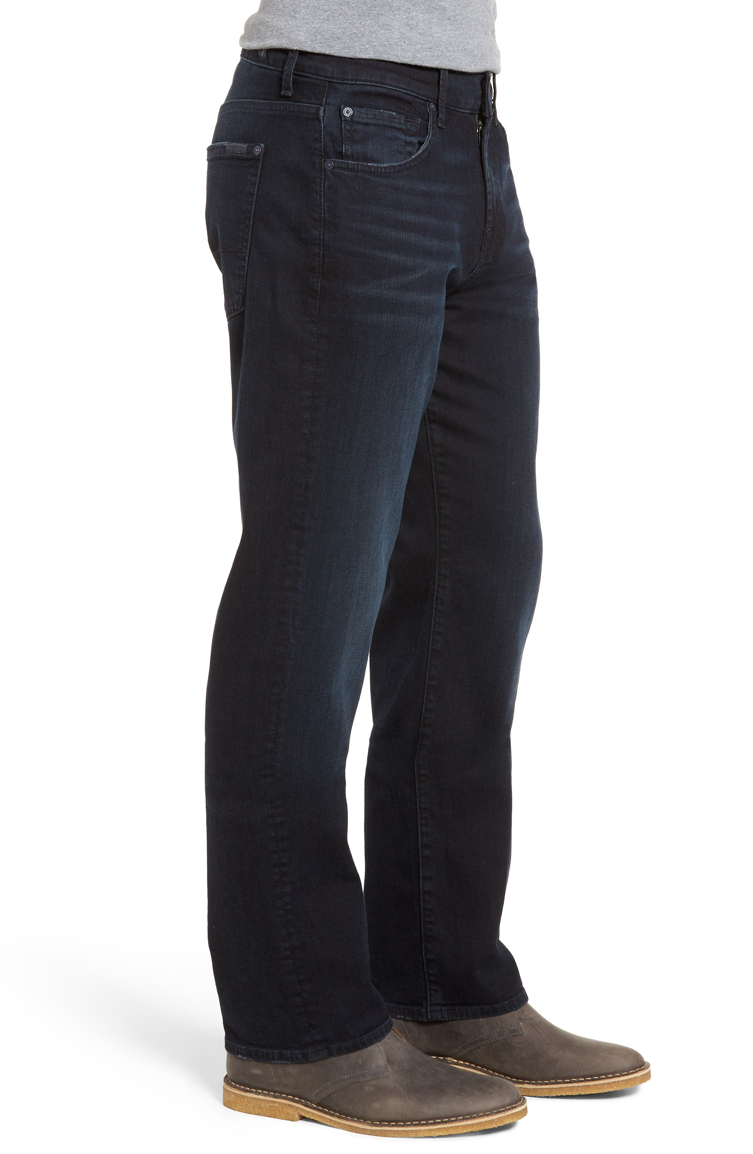 Luxe Austyn Relaxed Fit Jeans,                             Alternate thumbnail 3, color,                             Desperado