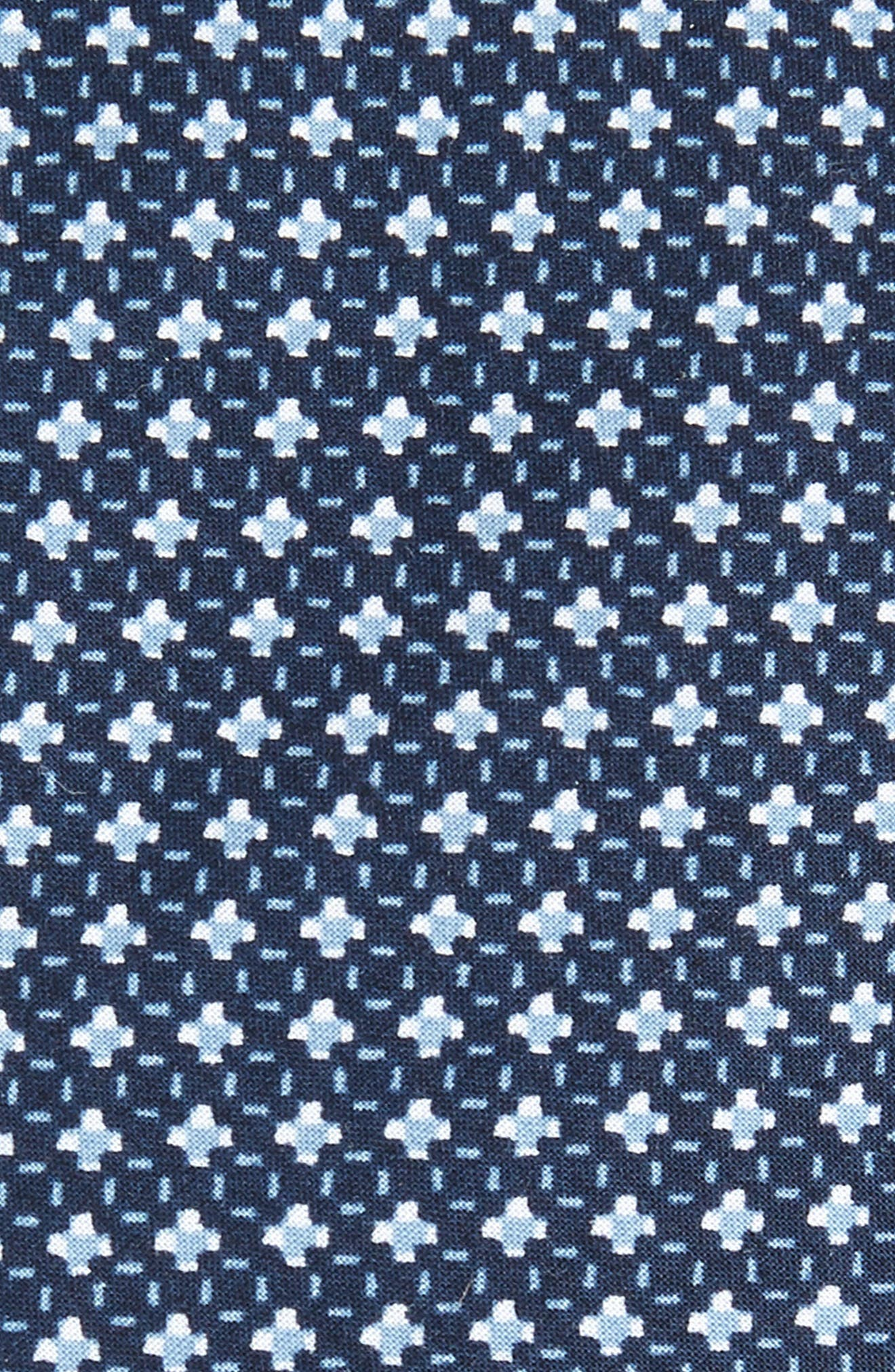 Alternate Image 2  - 1901 Olympos Geometric Cotton Tie