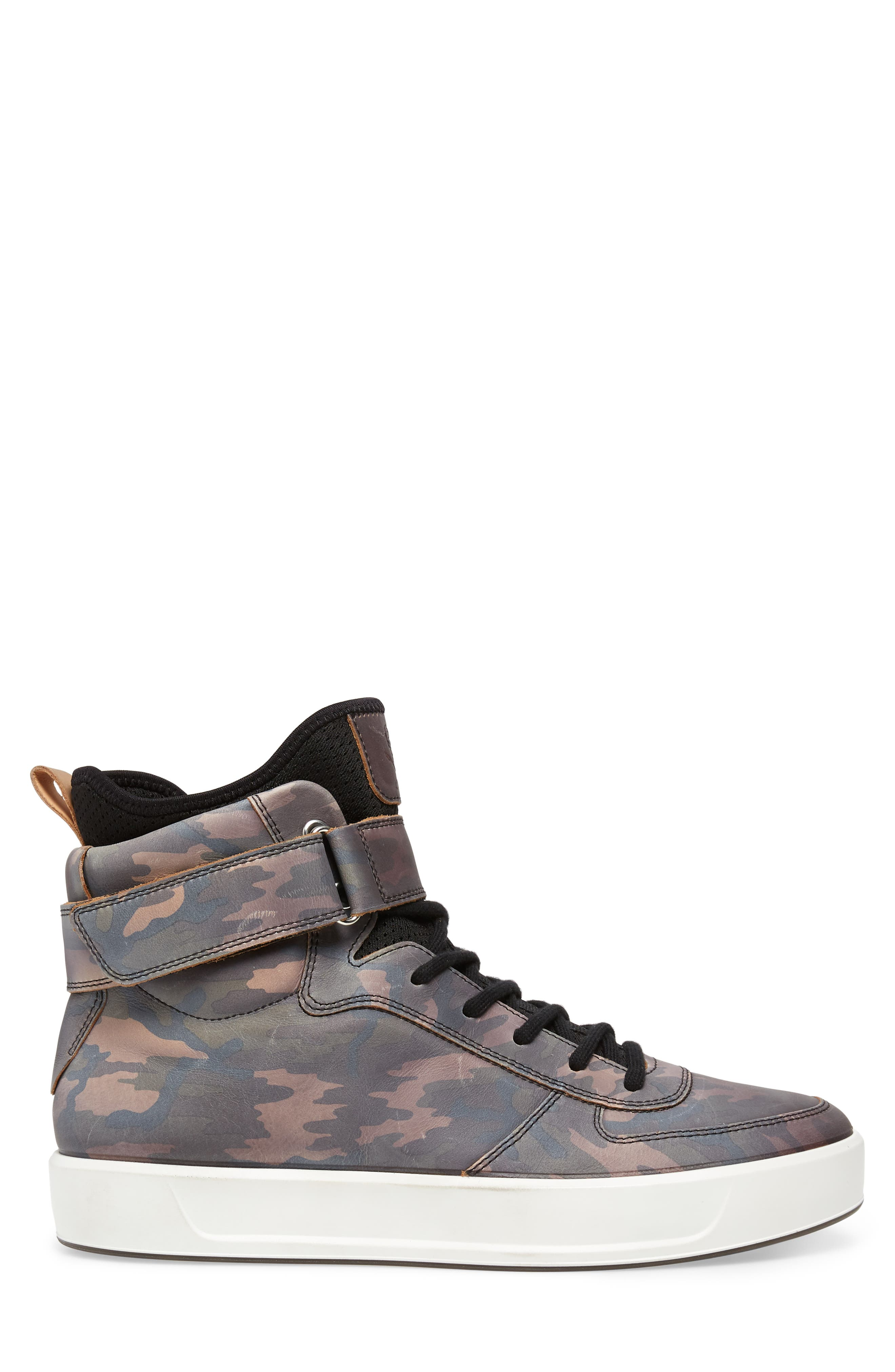 Soft 8 Color Changing Sneaker Boot,                             Alternate thumbnail 4, color,                             Black/ Camouflage Leather