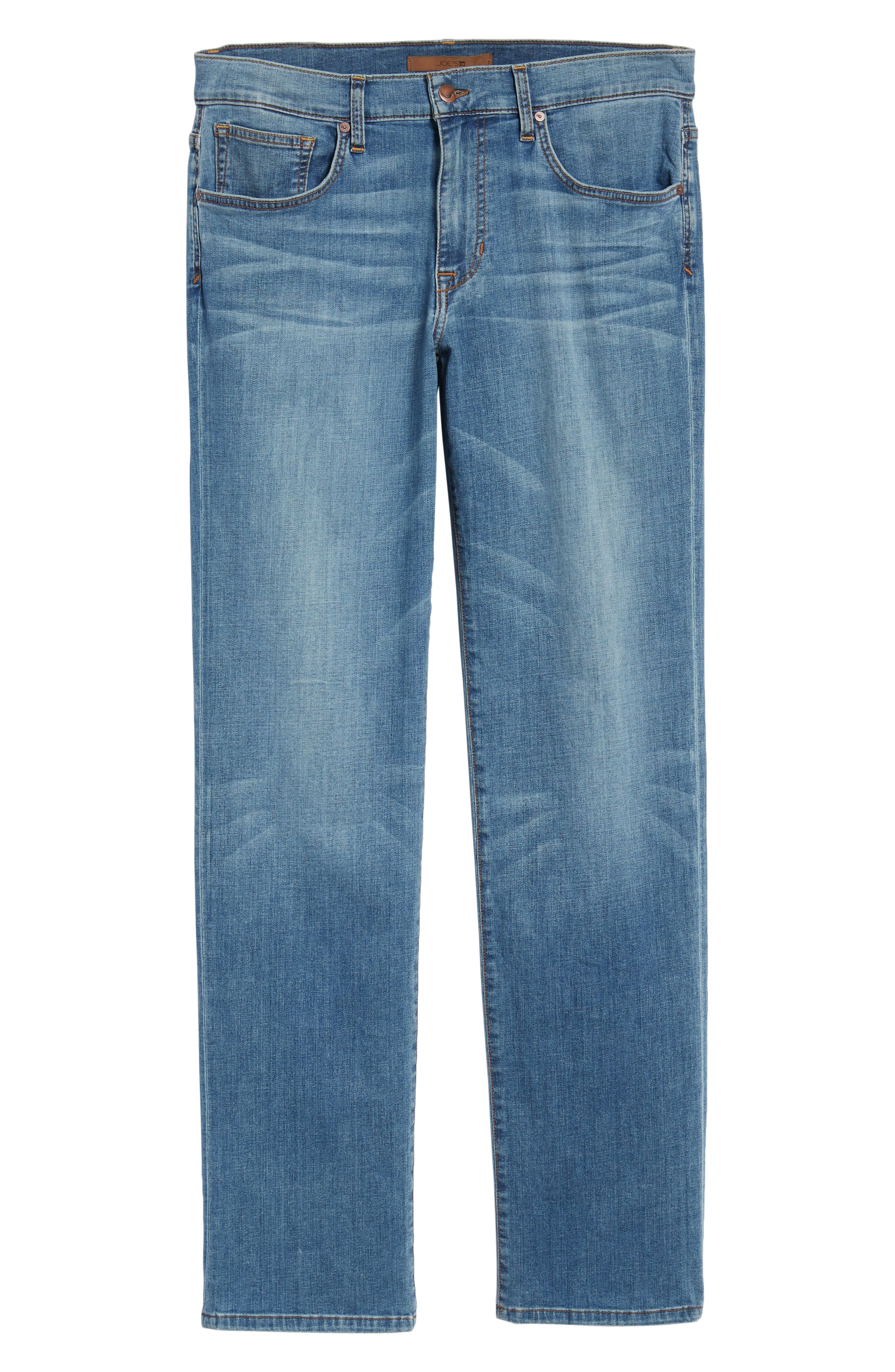Classic Straight Fit Jeans,                             Alternate thumbnail 6, color,                             Redding