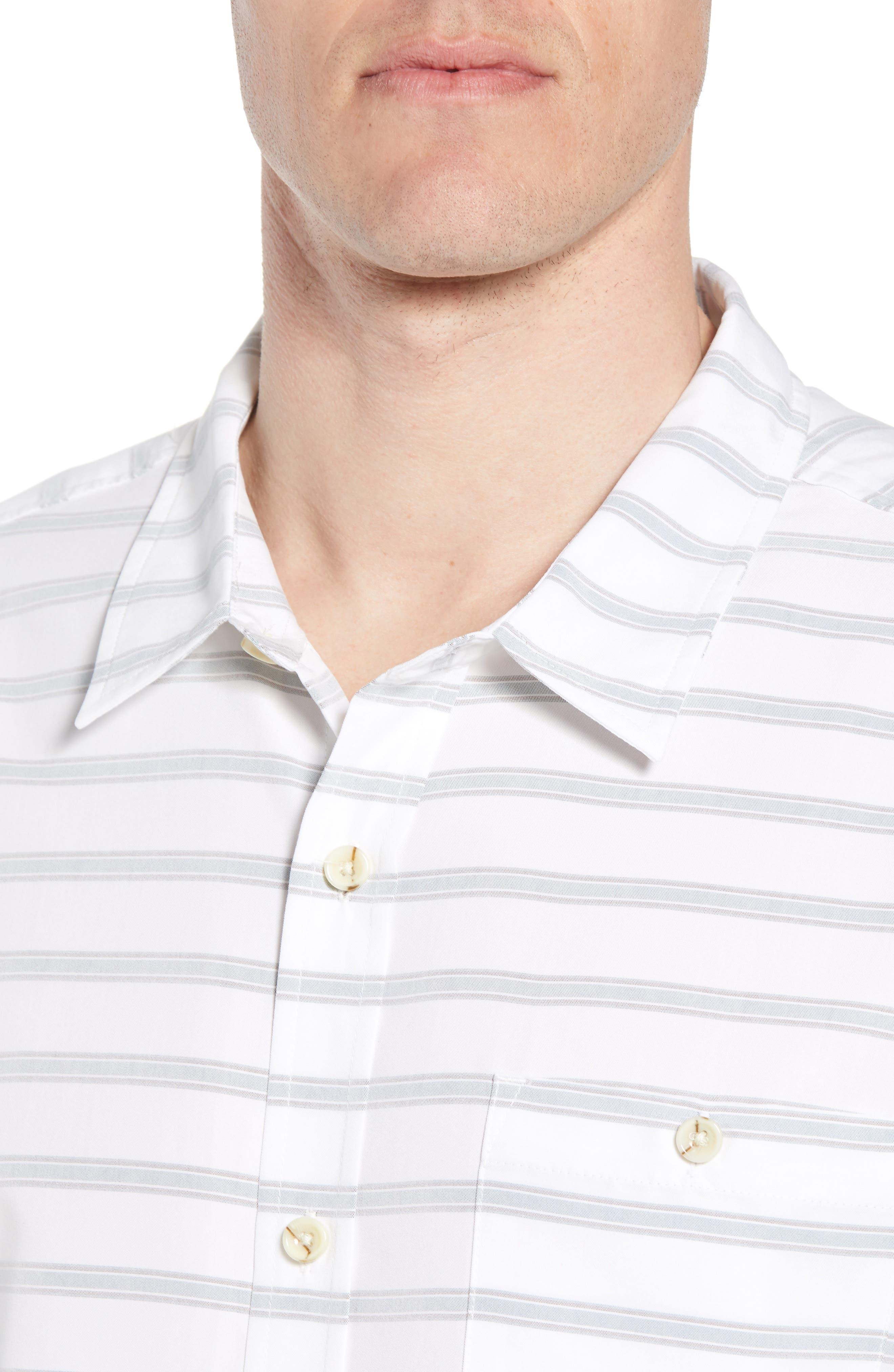 Slow Ride Sport Shirt,                             Alternate thumbnail 2, color,                             White