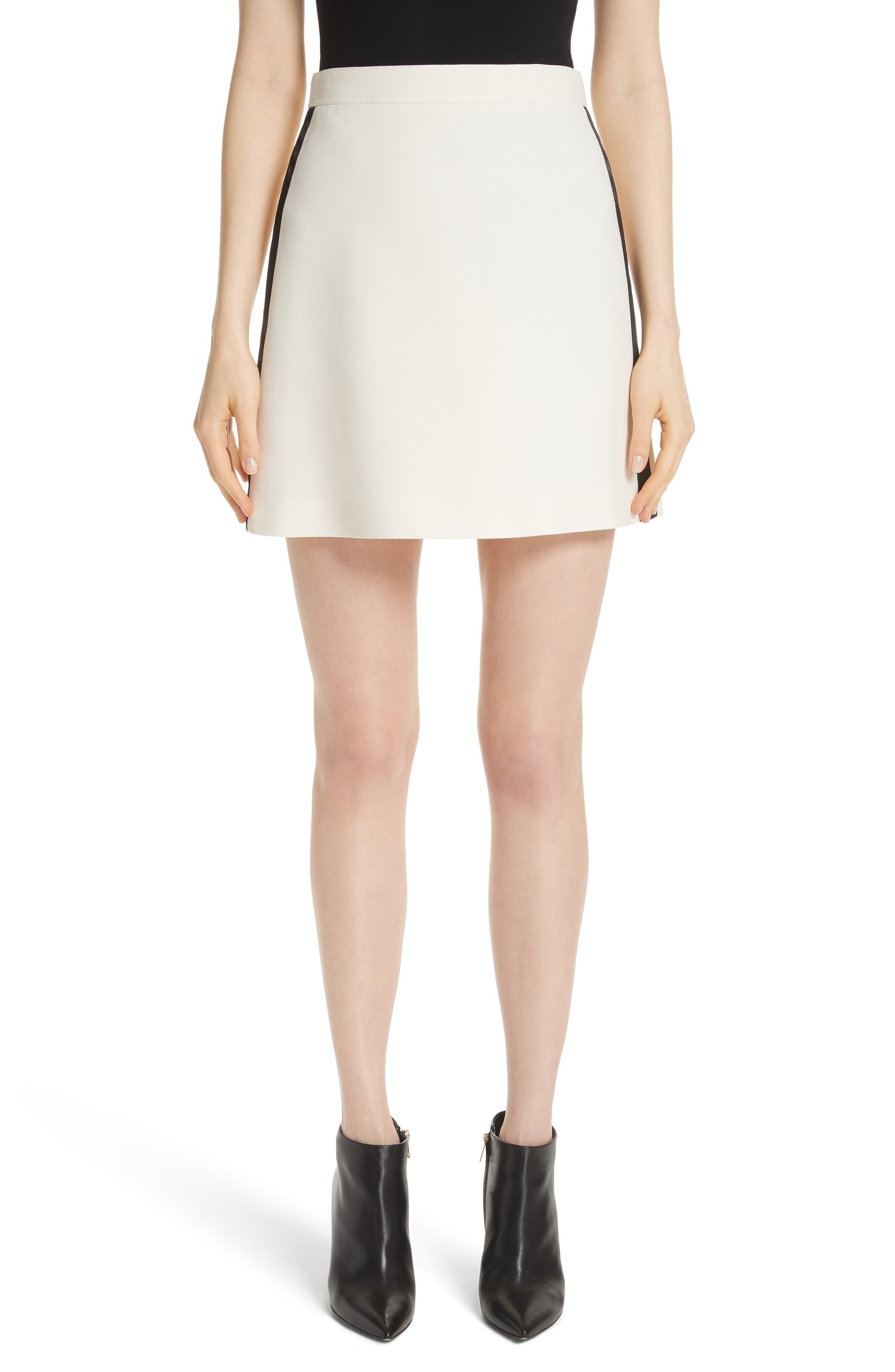 Burberry Stanforth Wool & Silk Skirt