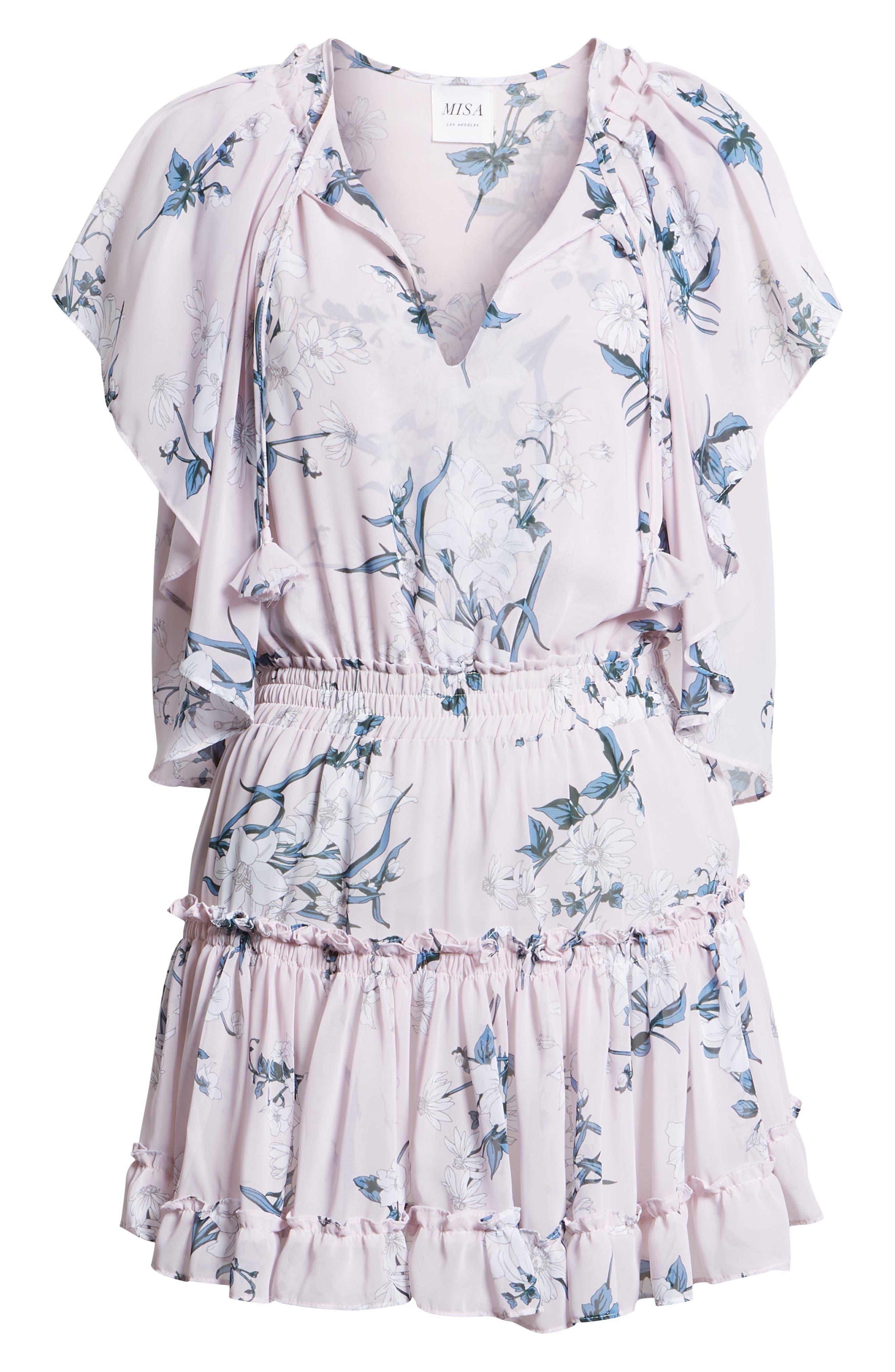 Lullu Dress,                             Alternate thumbnail 7, color,                             Multi Fe15