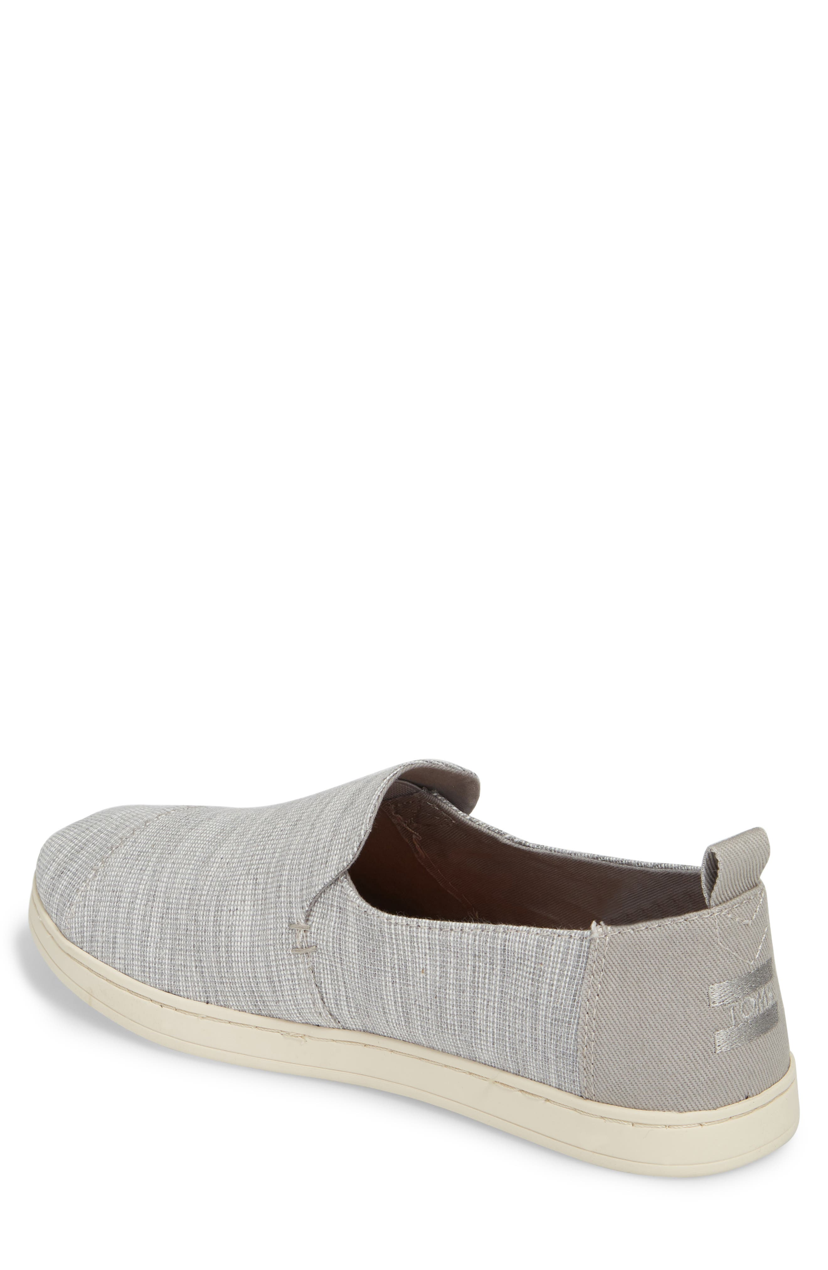 Deconstructed Alpargata Slip-On,                             Alternate thumbnail 2, color,                             Drizzle Striped Chambray