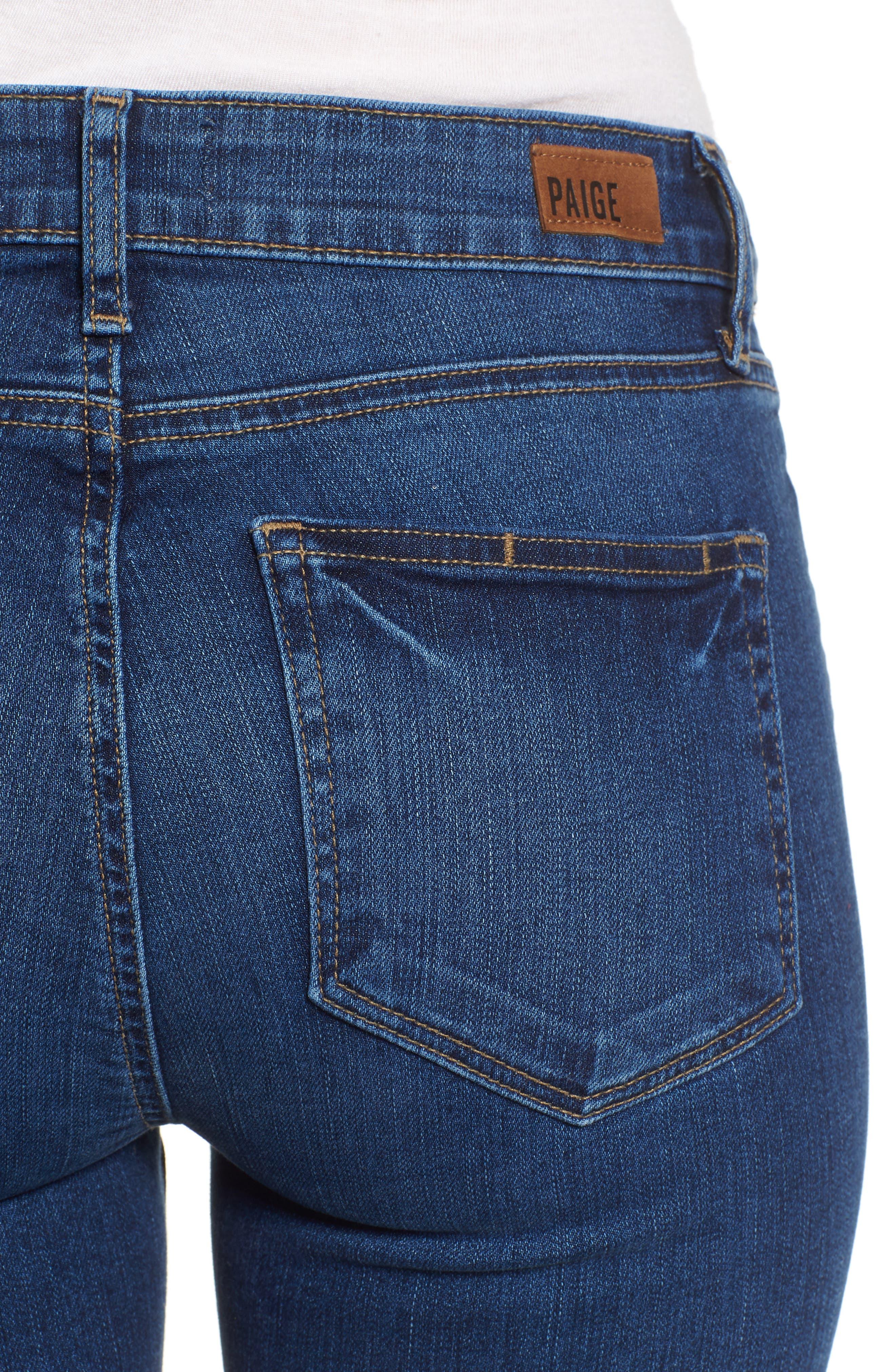 Verdugo Ankle Skinny Jeans,                             Alternate thumbnail 4, color,                             Salida