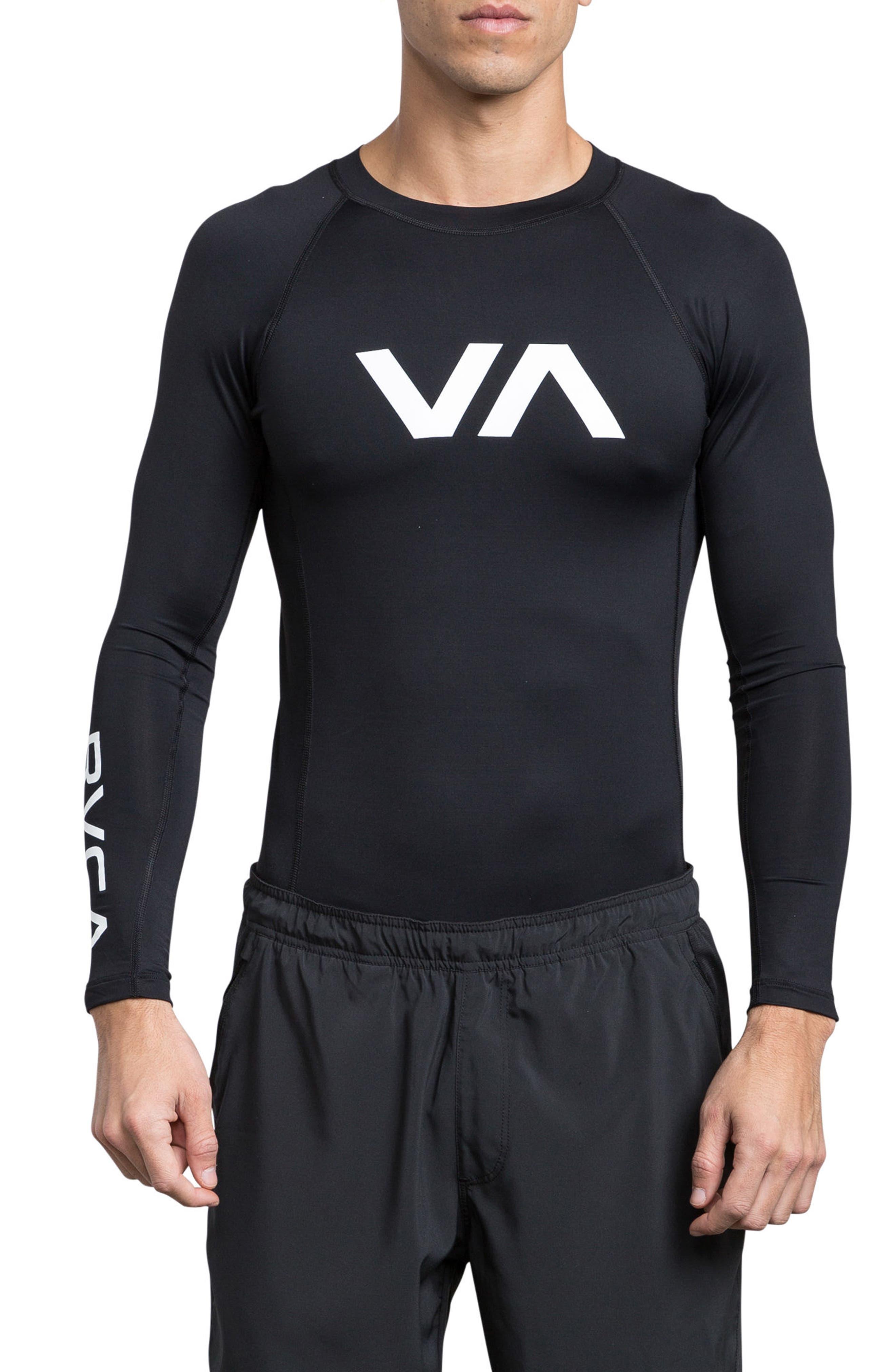 Sport Rashguard,                         Main,                         color, Black