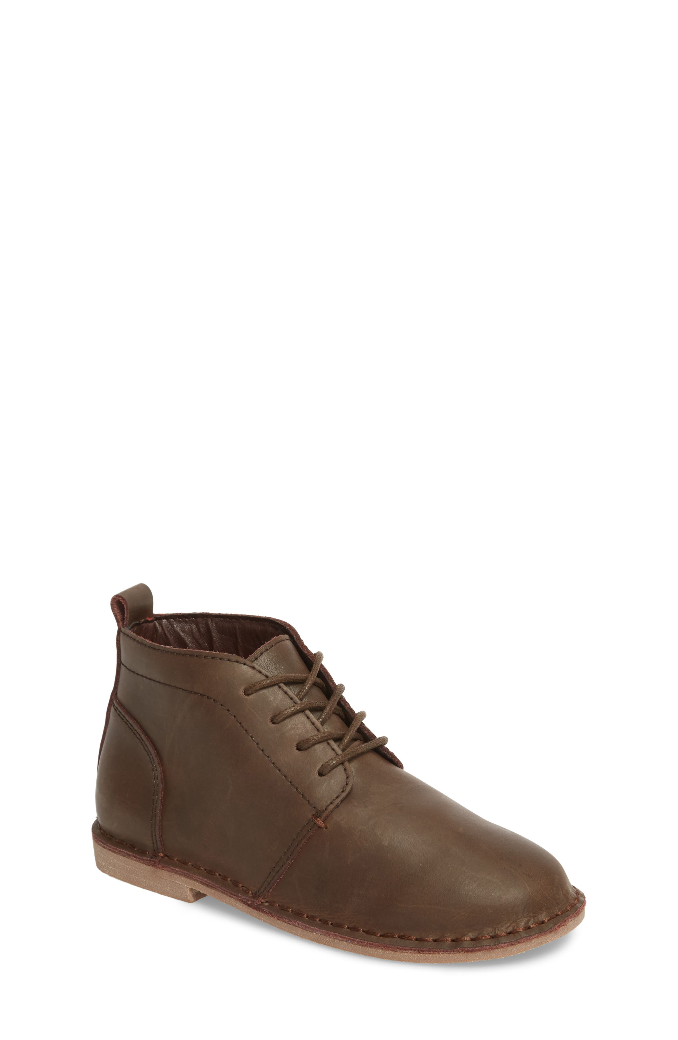 Finley Boot,                         Main,                         color, Chocolate Leather