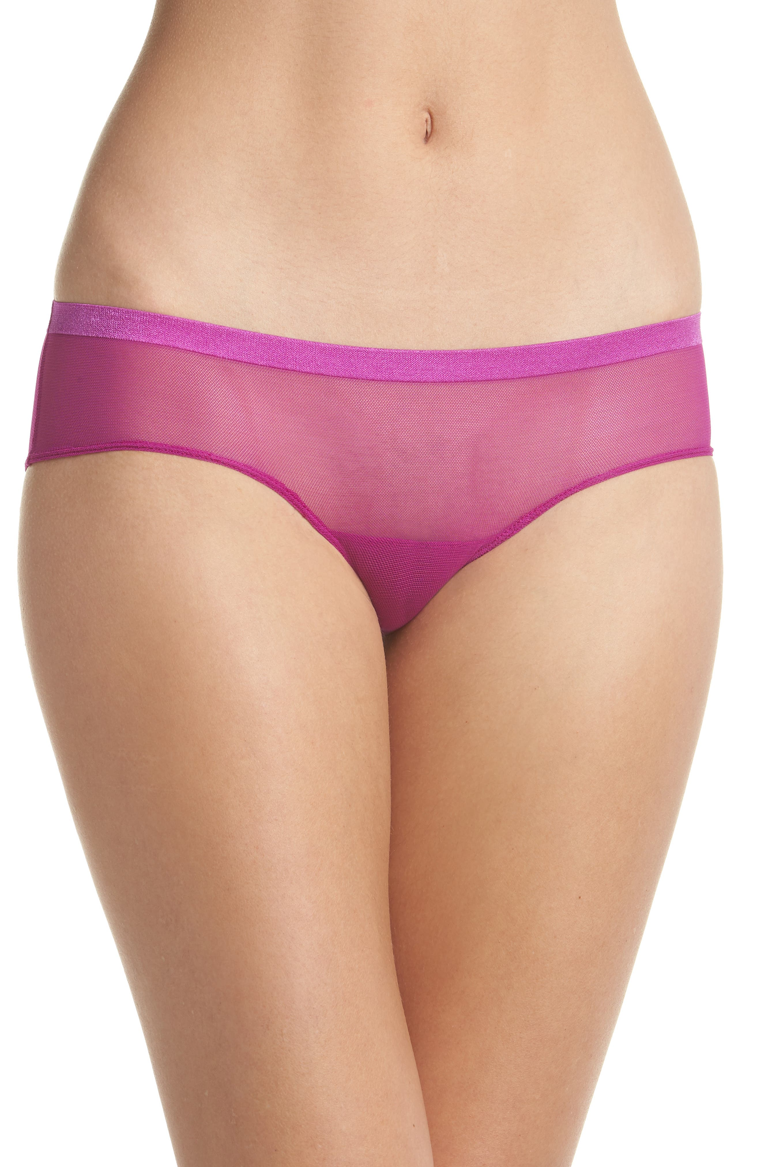 Roxanne Hipster Briefs,                         Main,                         color, Pink