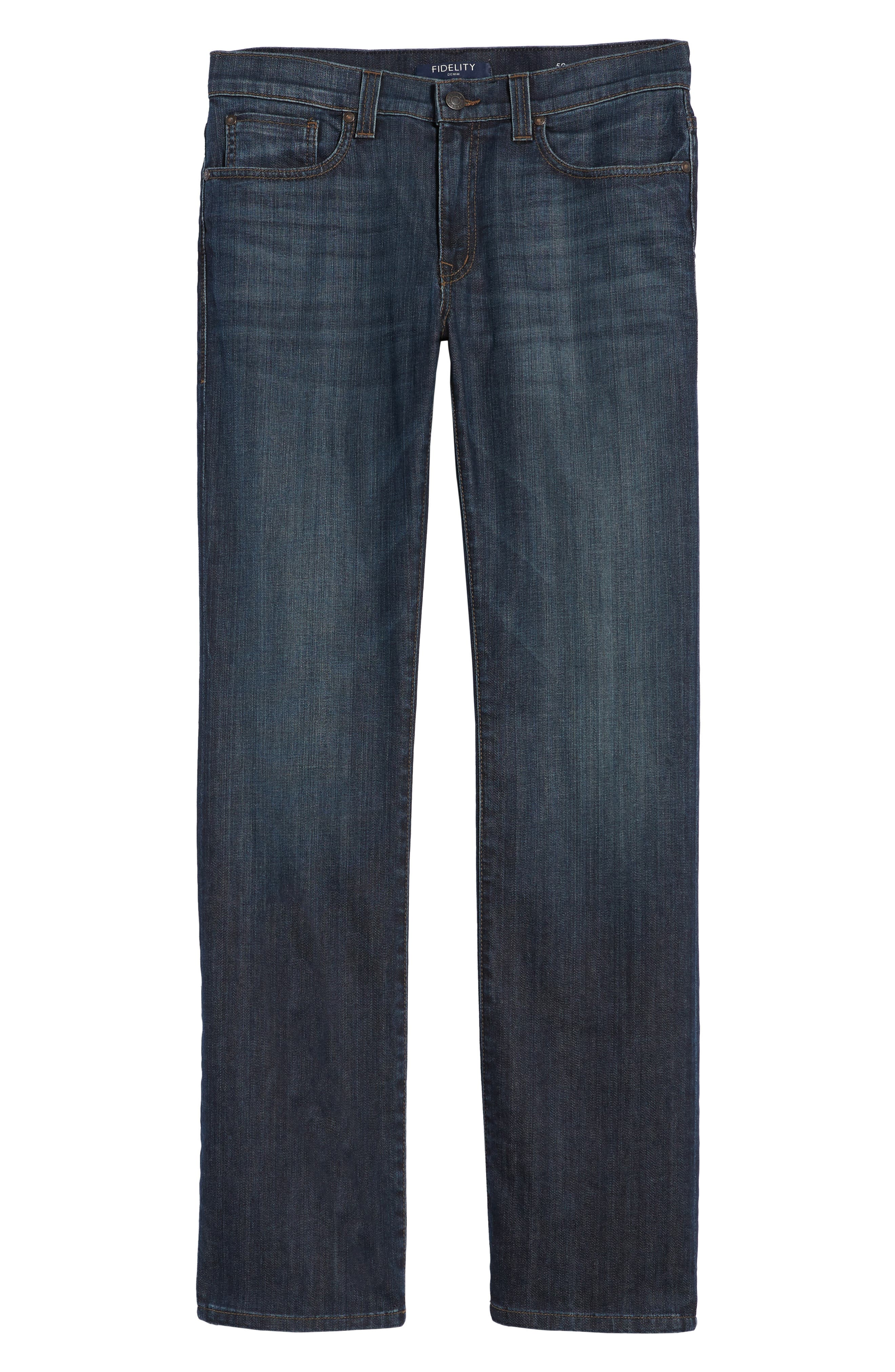 50-11 Relaxed Fit Jeans,                             Alternate thumbnail 6, color,                             Winwood Vintage