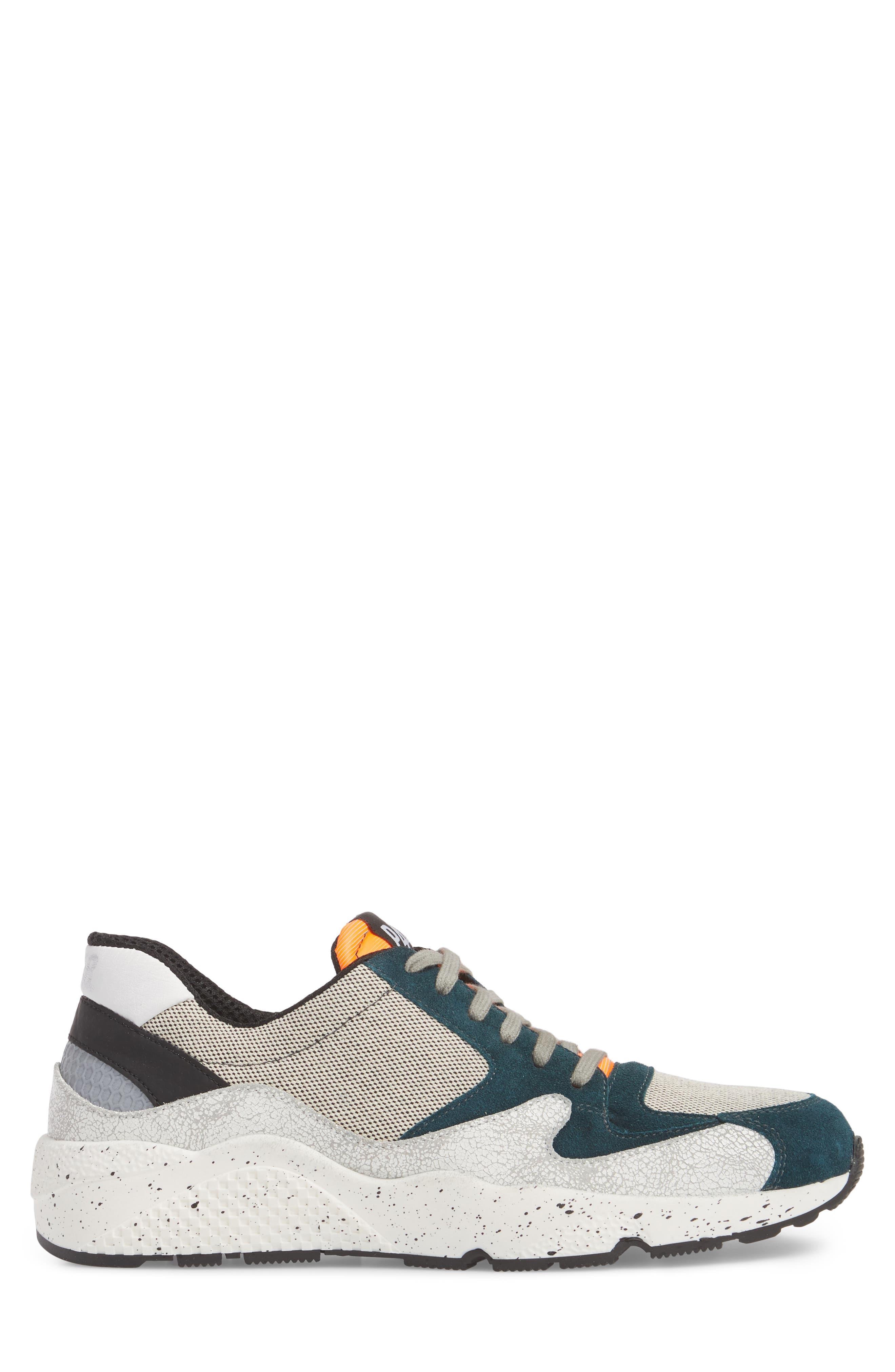 America Low Top Sneaker,                             Alternate thumbnail 3, color,                             White