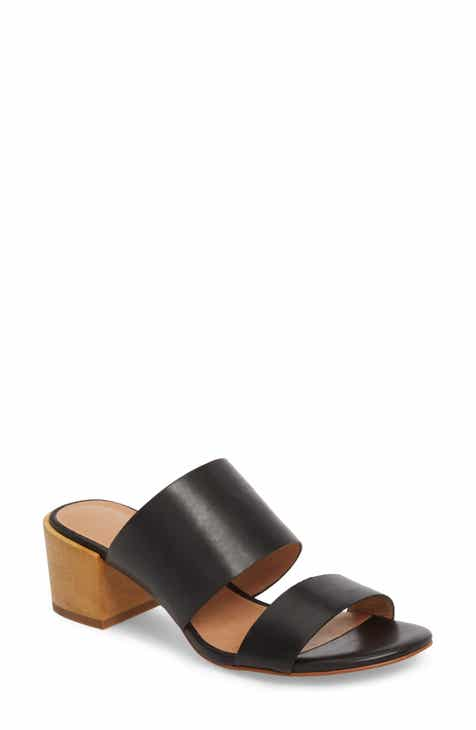 Special Offer Madewell Kiera Block Heel Slide (Women)