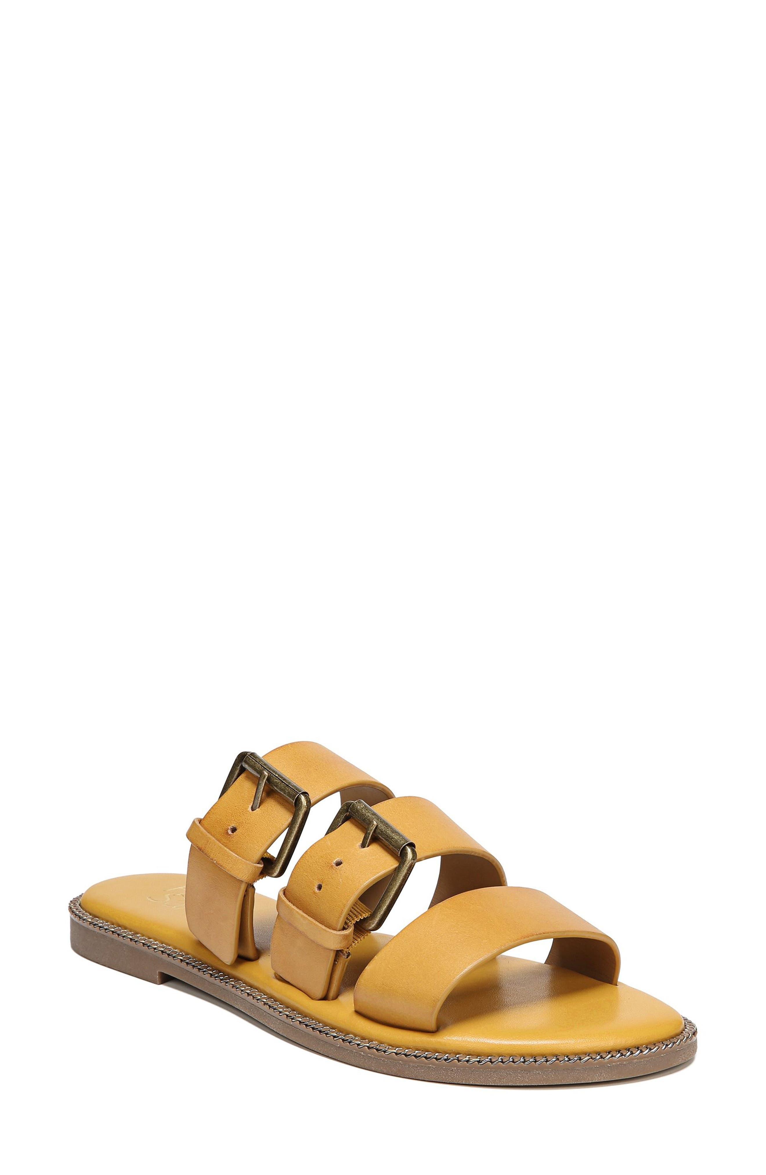 SARTO by Franco Sarto Kasa Three Strap Slide Sandal (Women)