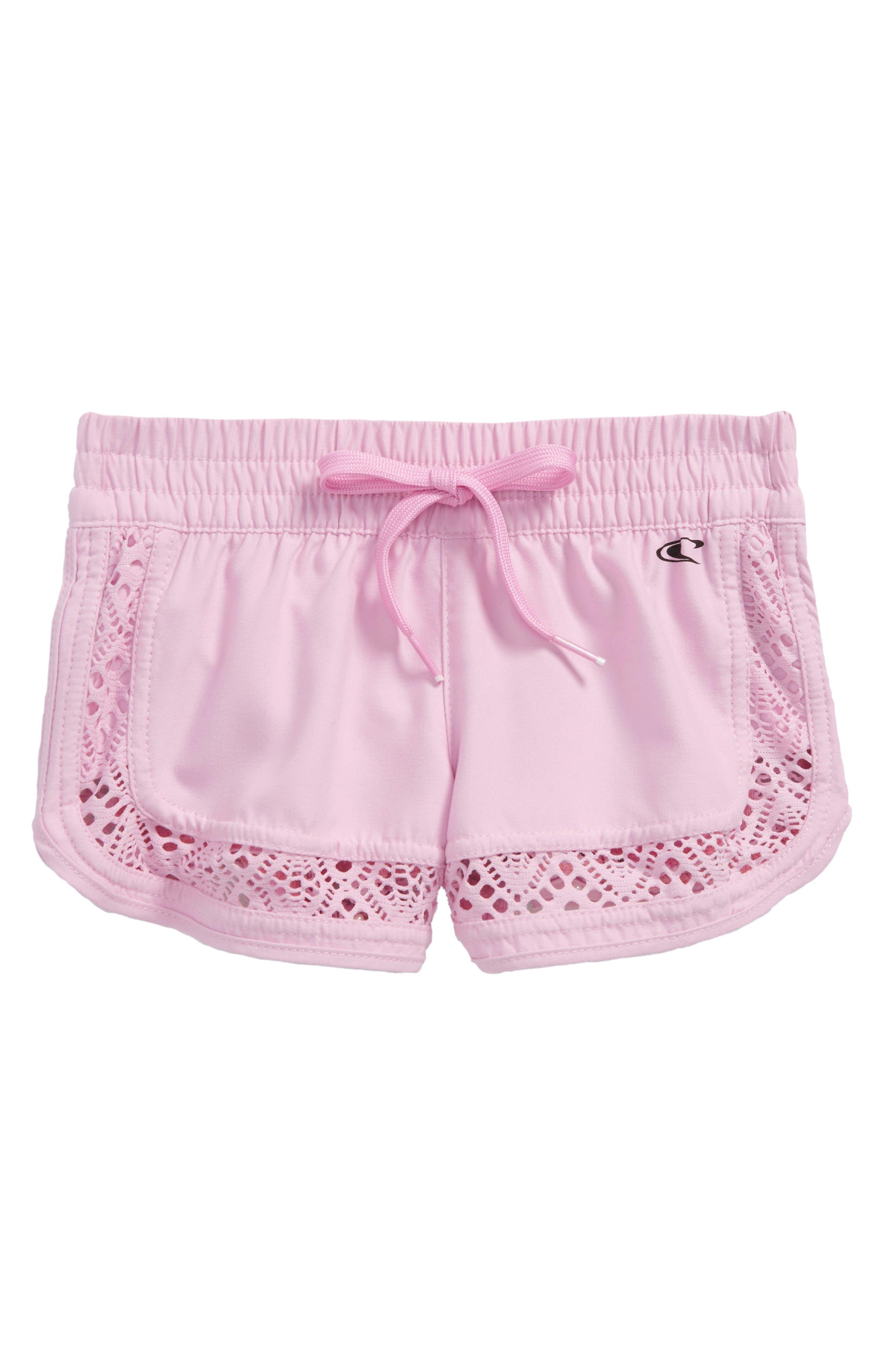 Renewal 2 Board Shorts,                             Main thumbnail 1, color,                             Pink Lavender