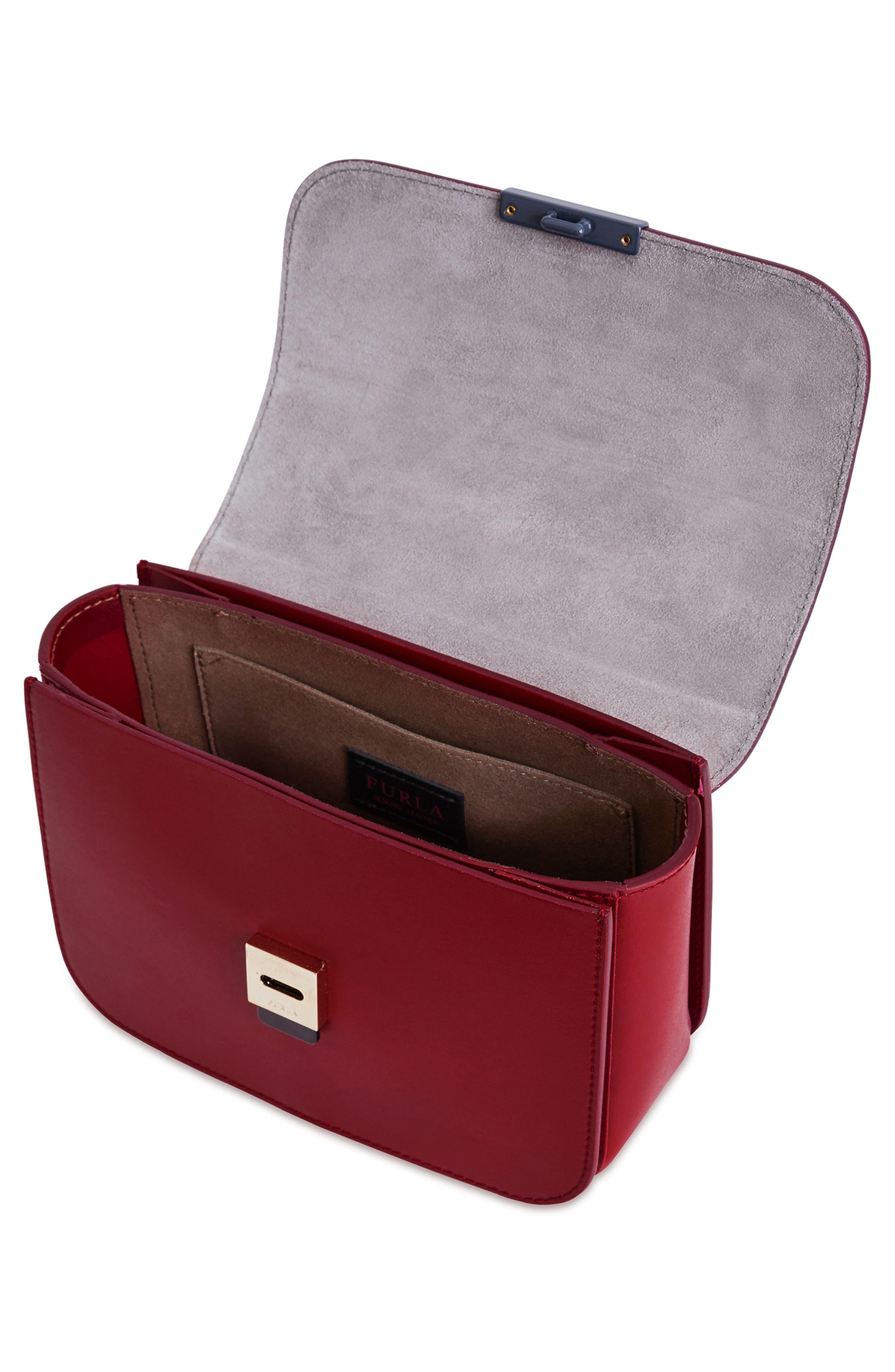 Elisir Mini Crossbody Bag,                             Alternate thumbnail 3, color,                             Ciliegia