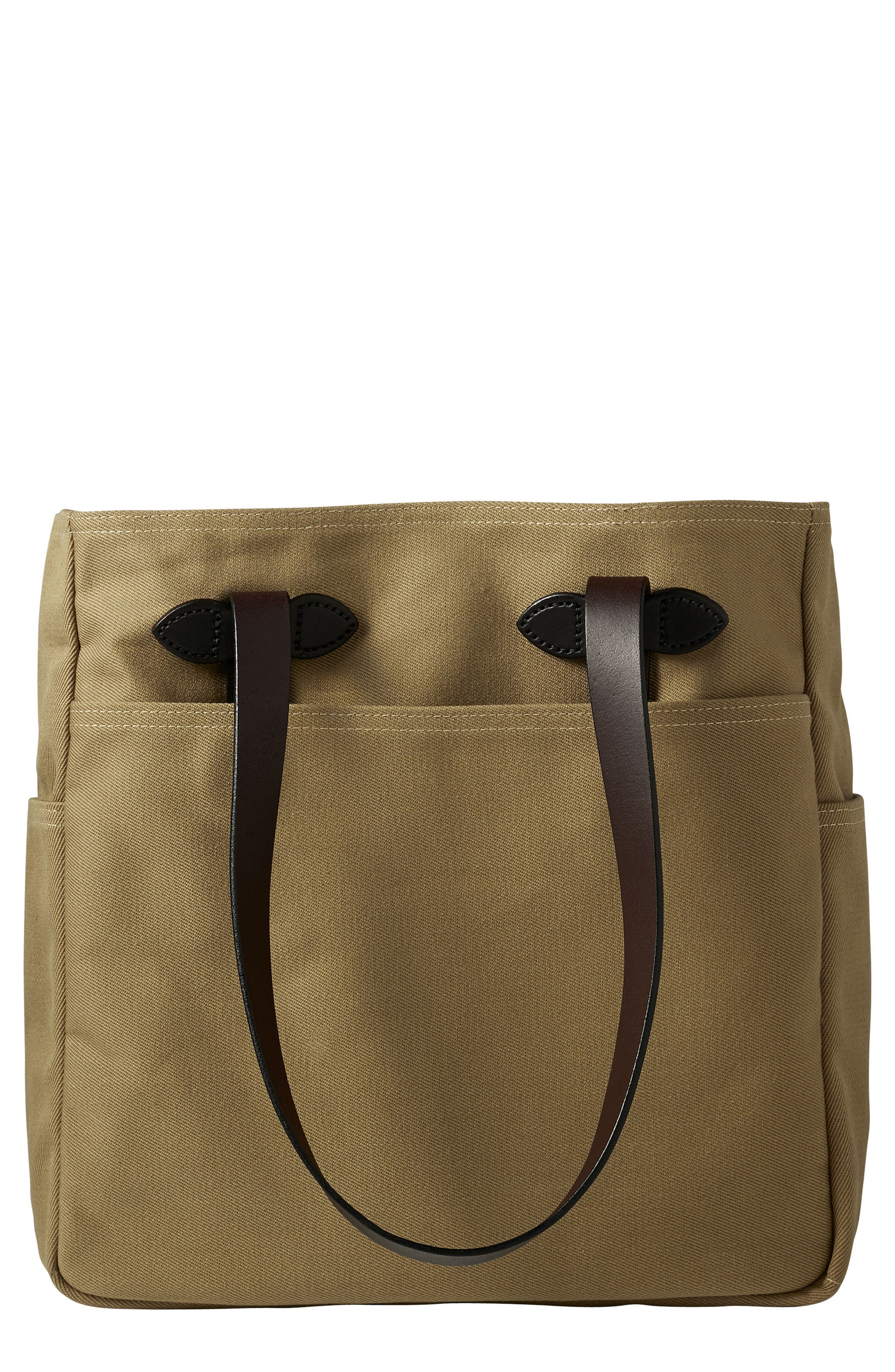 Rugged Twill Tote Bag,                         Main,                         color, Tan