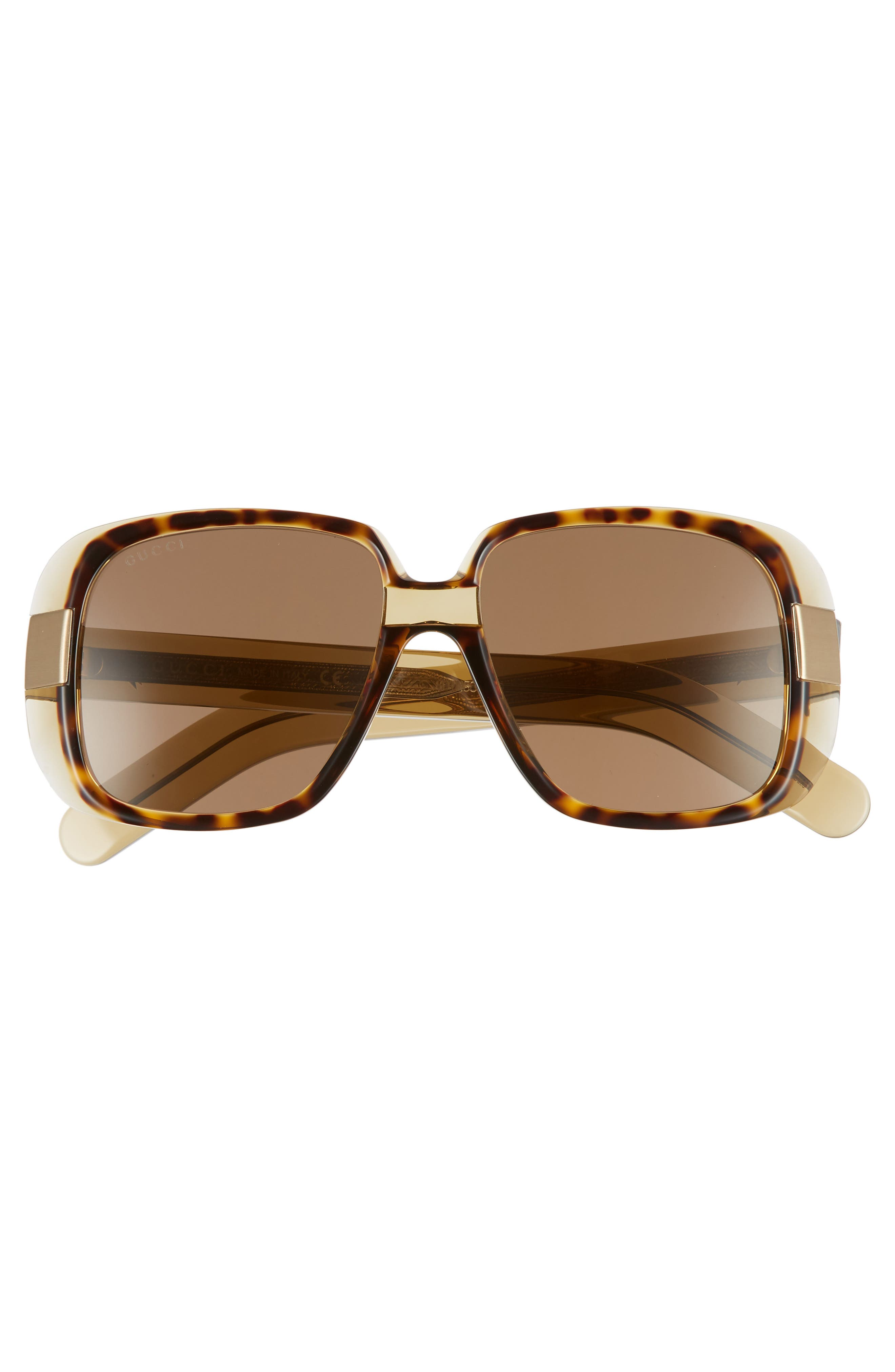 Cruise 51mm Square Sunglasses,                             Alternate thumbnail 2, color,                             Olive