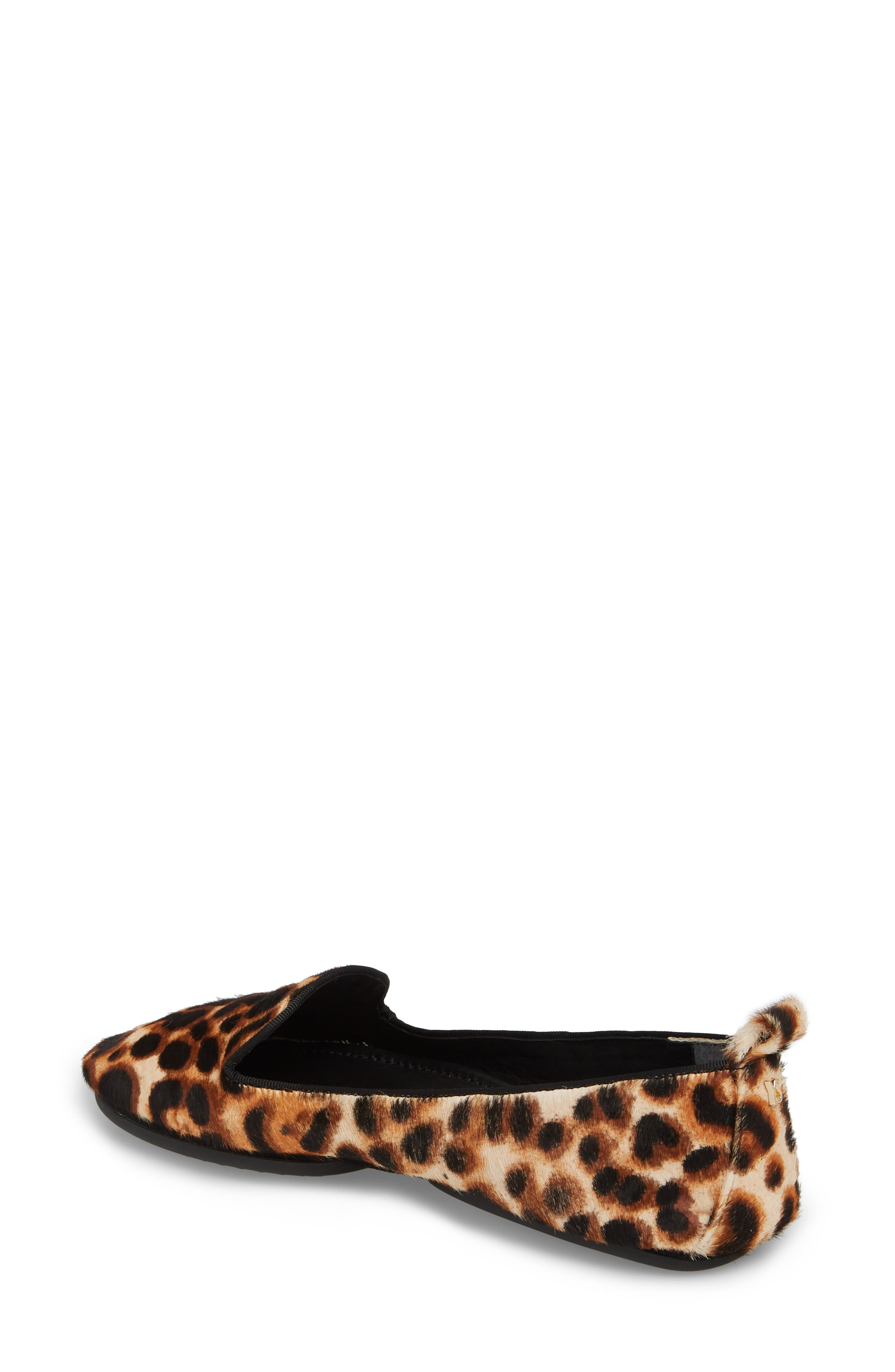 Silva Genuine Calf Hair Loafer,                             Alternate thumbnail 2, color,                             Natural Leopard Calf Hair