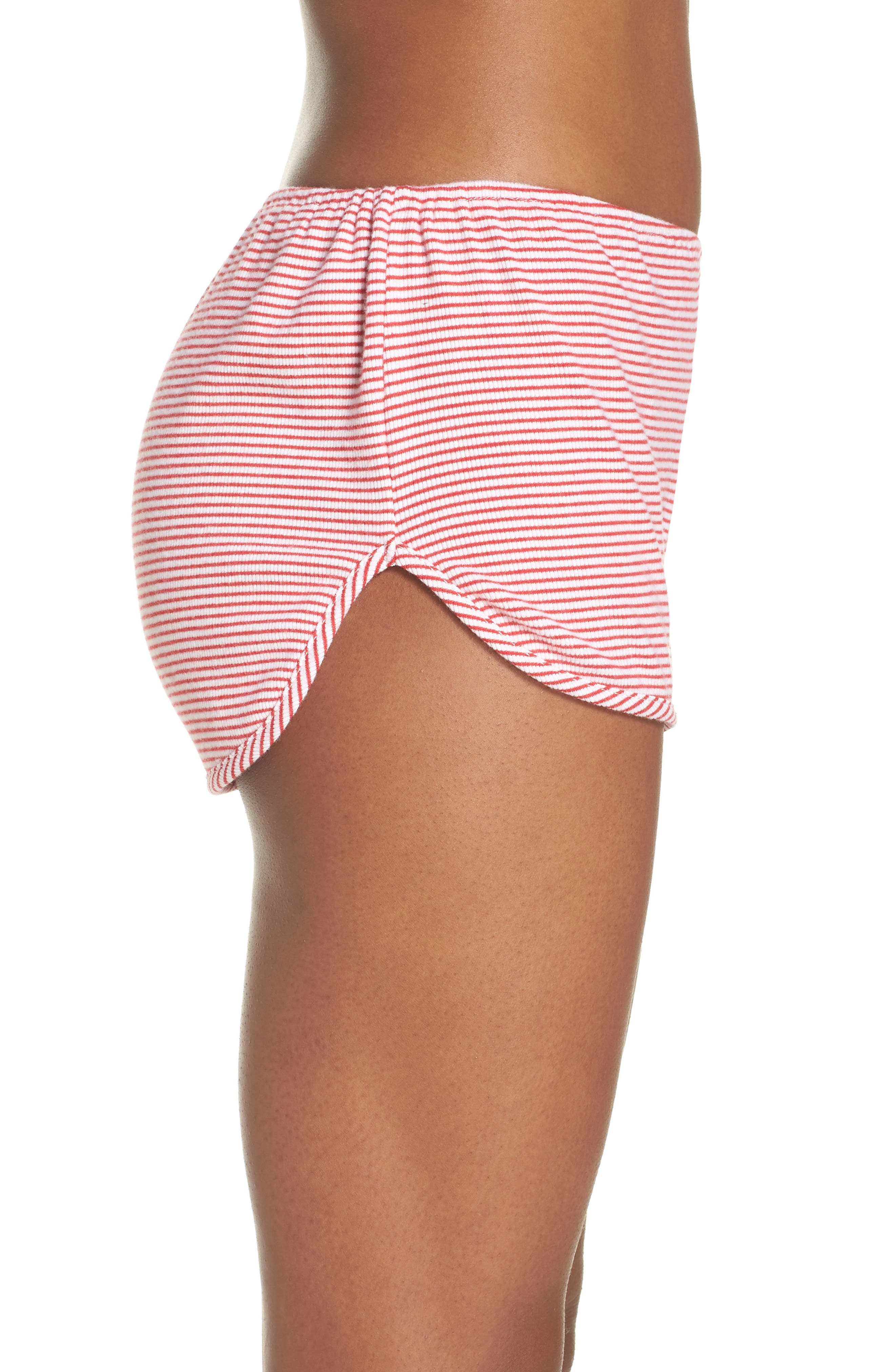 Penny Shorts,                             Alternate thumbnail 3, color,                             Red Stripe