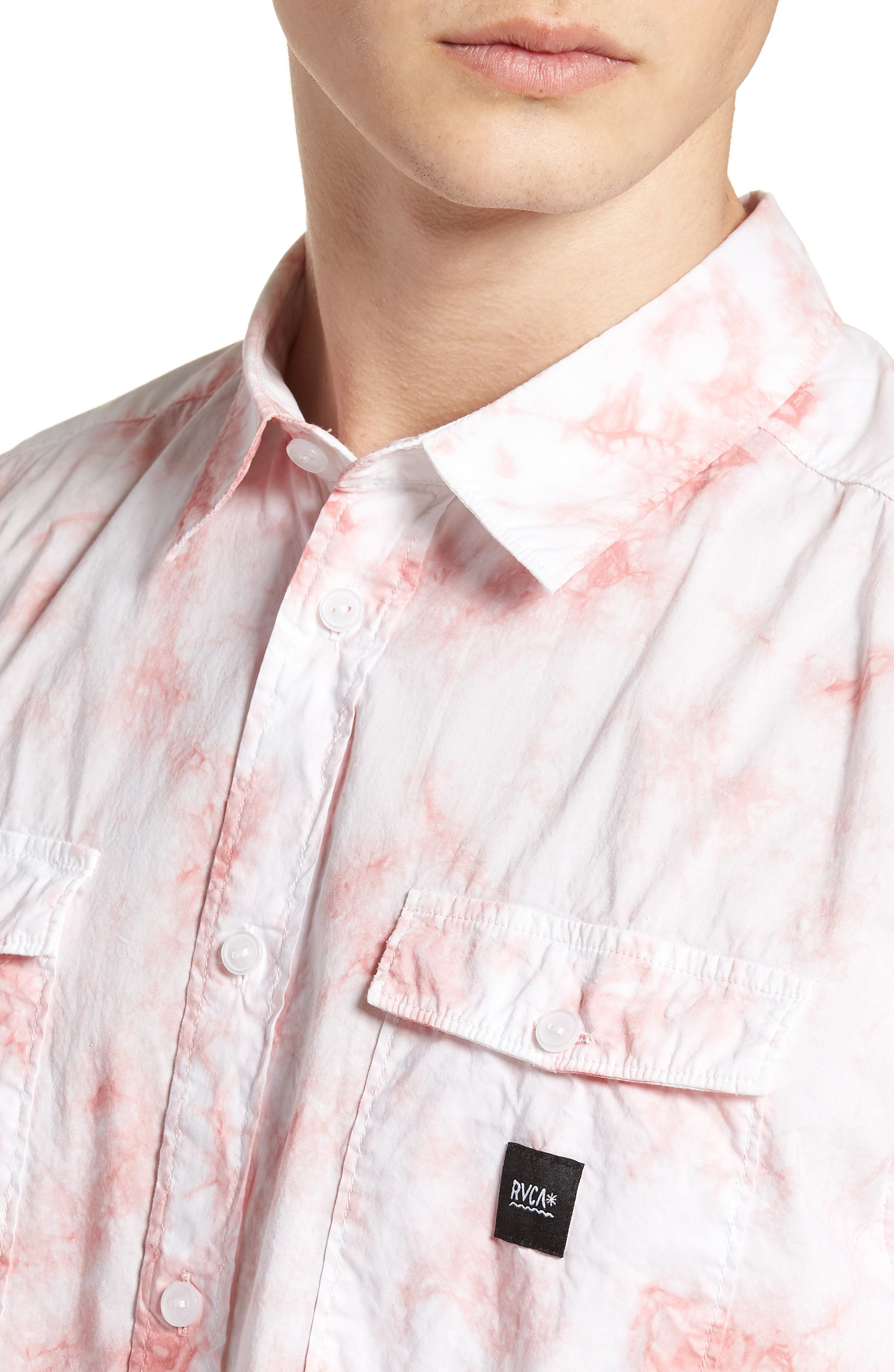 Alternate Image 2  - RVCA Destroy Woven Shirt