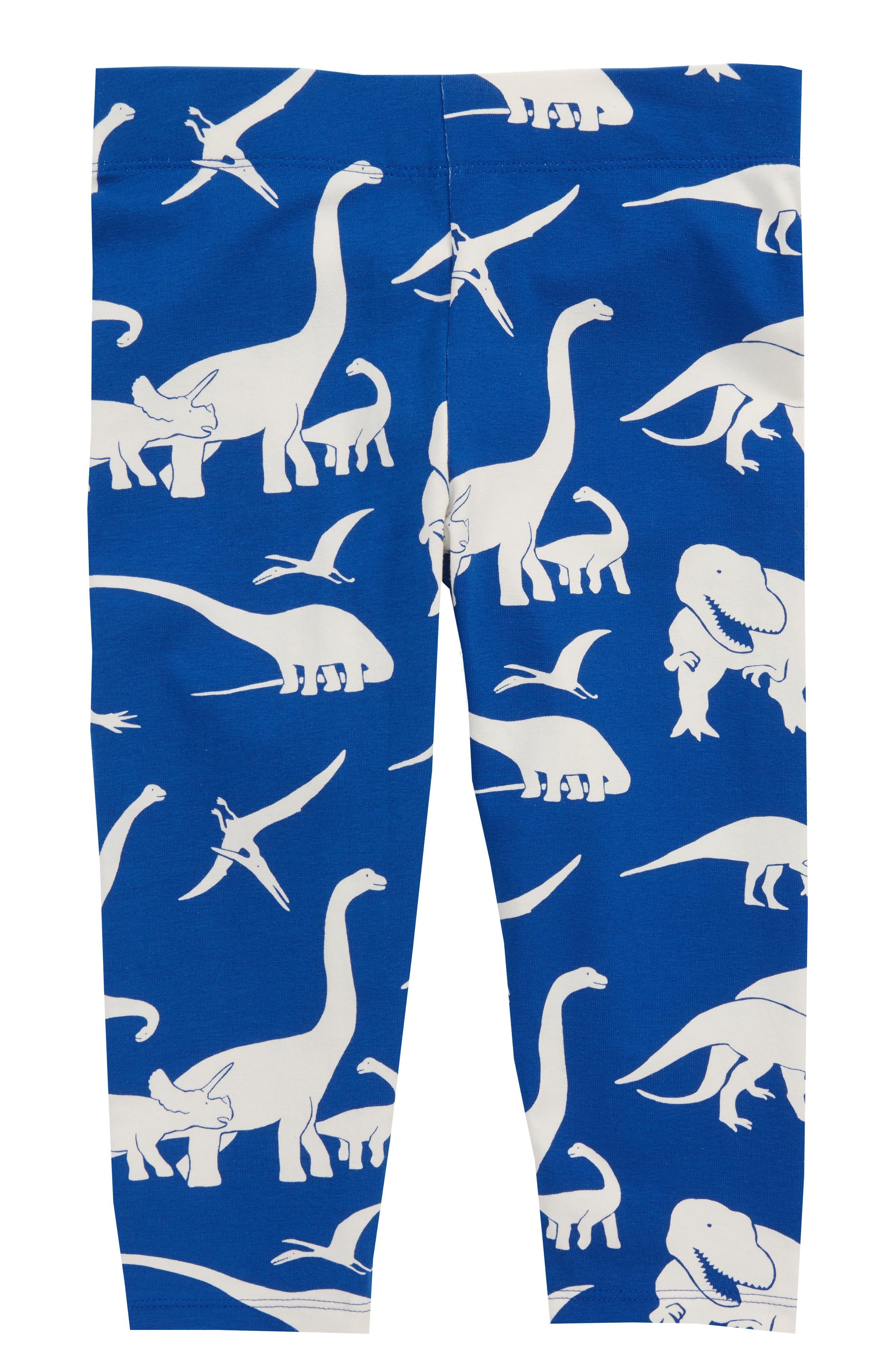 Crop Leggings,                         Main,                         color, Orion Blue Roarsome Friend