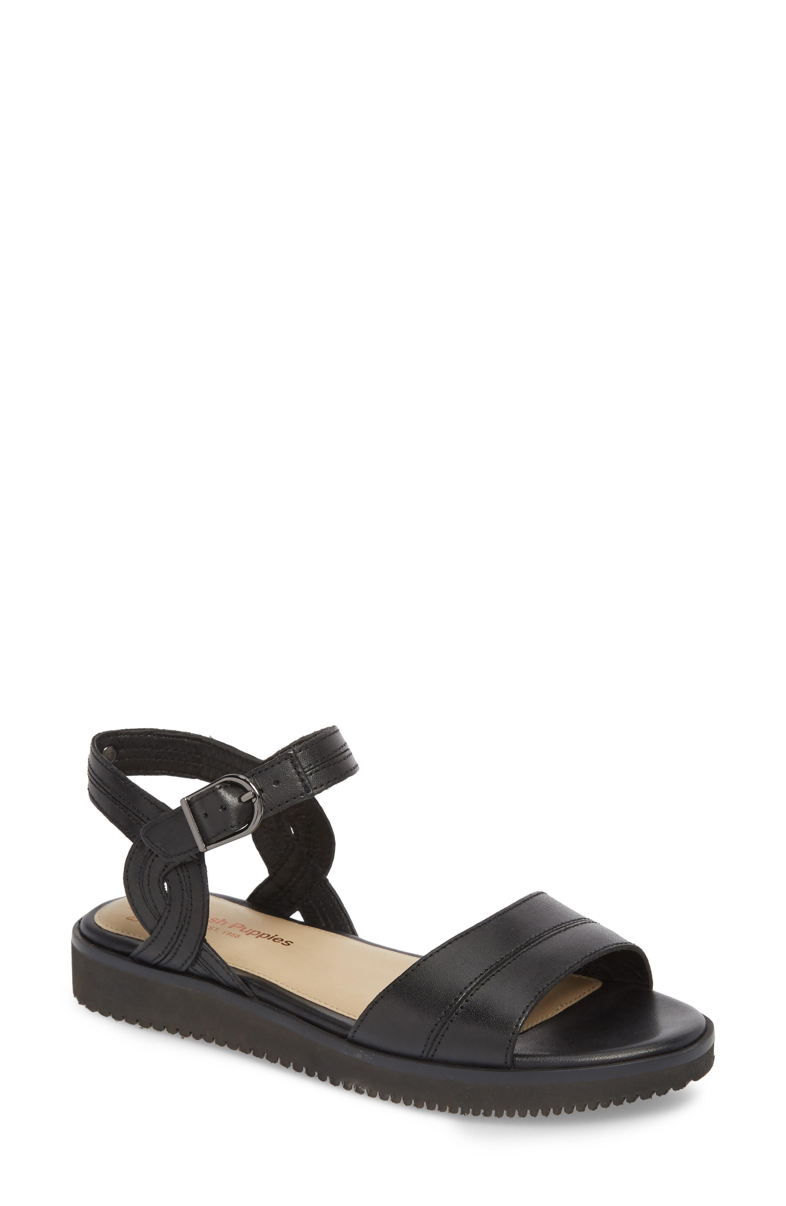 Hush Puppies® Quarter Strap Sandal (Women)