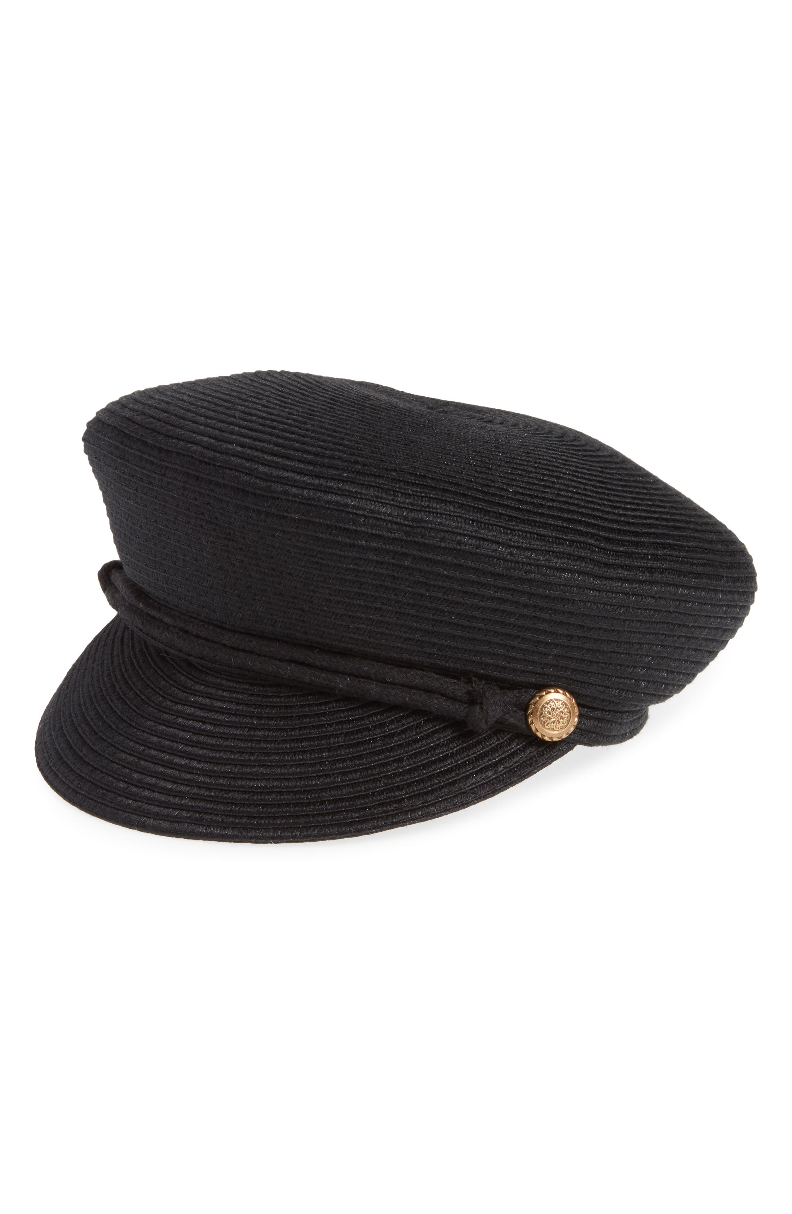 Kitsch Woven Baker Boy Hat