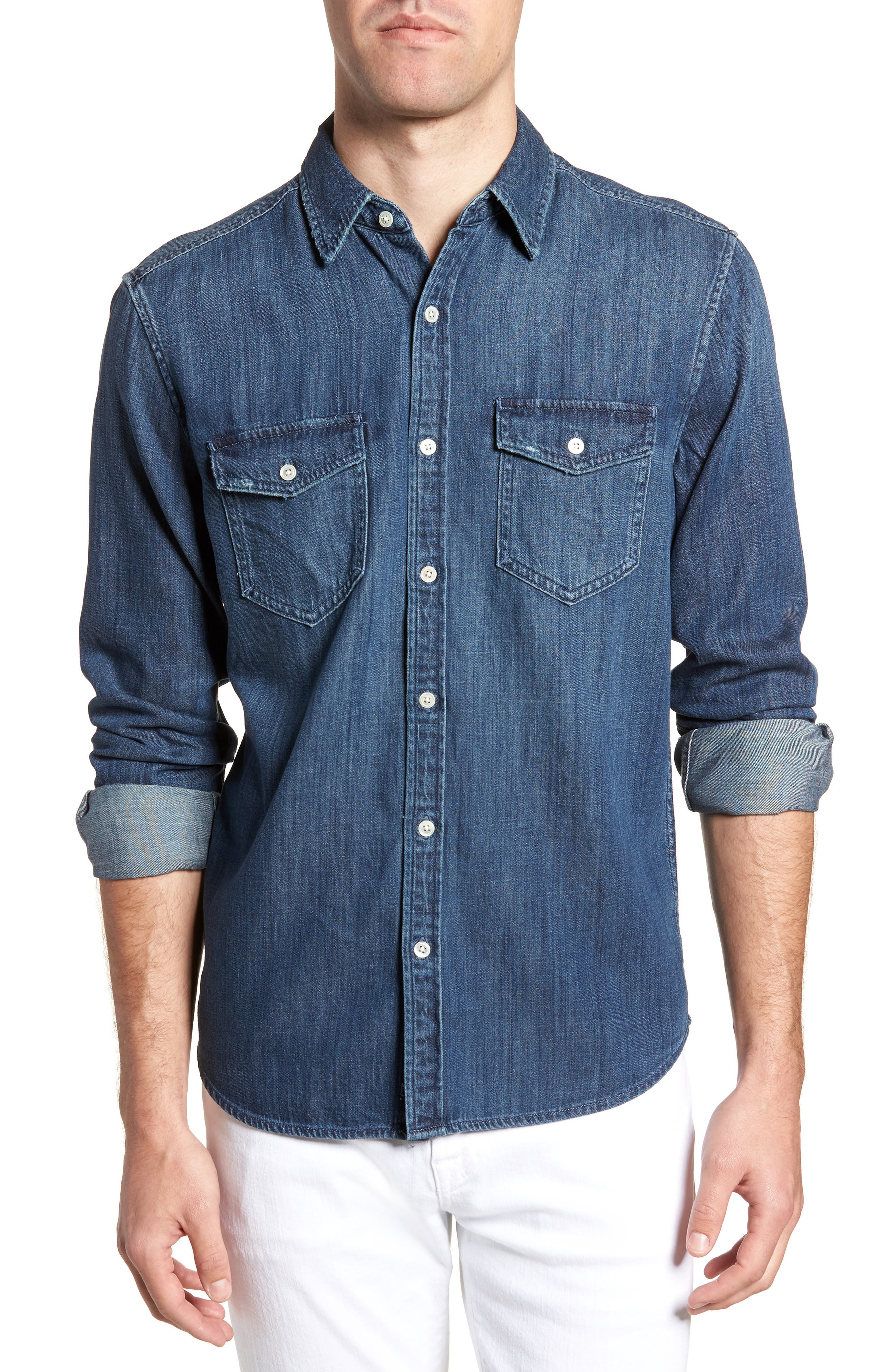 FRAME Regular Fit Sport Shirt