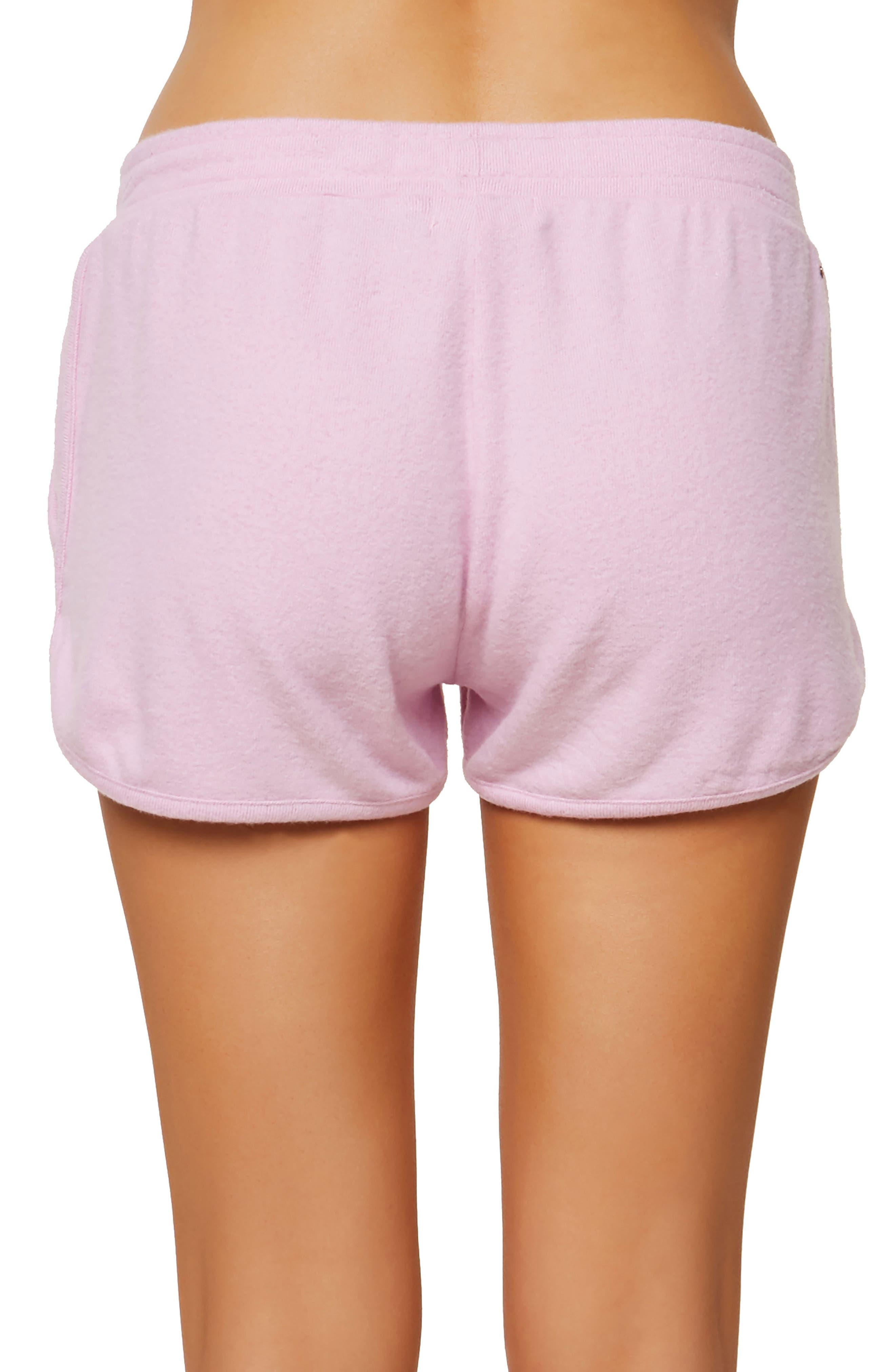 Costa Fleece Dolphin Shorts,                             Alternate thumbnail 2, color,                             Pastel Lavender