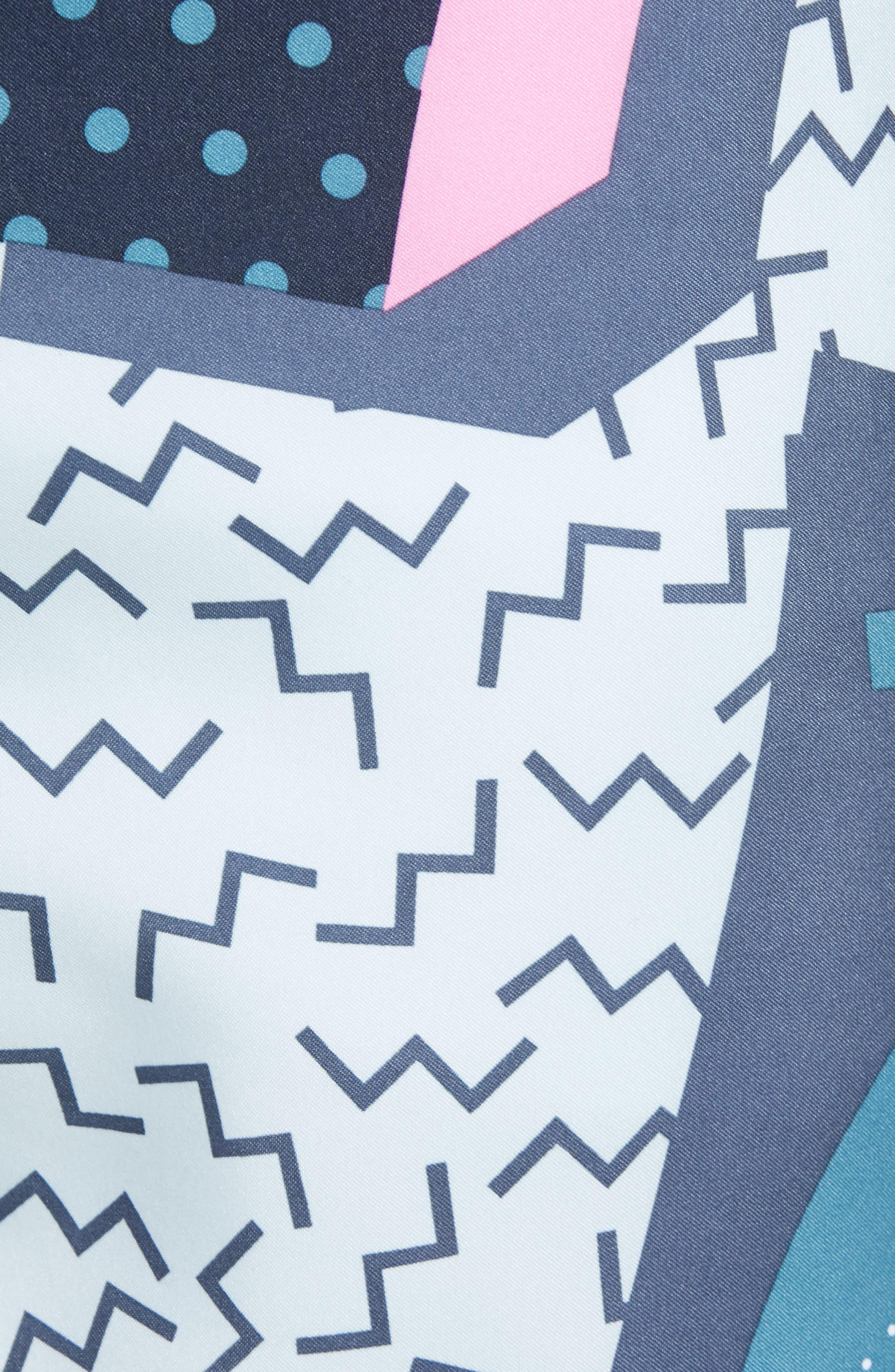Memphis Swim Trunks,                             Alternate thumbnail 5, color,                             Dark Sapphire