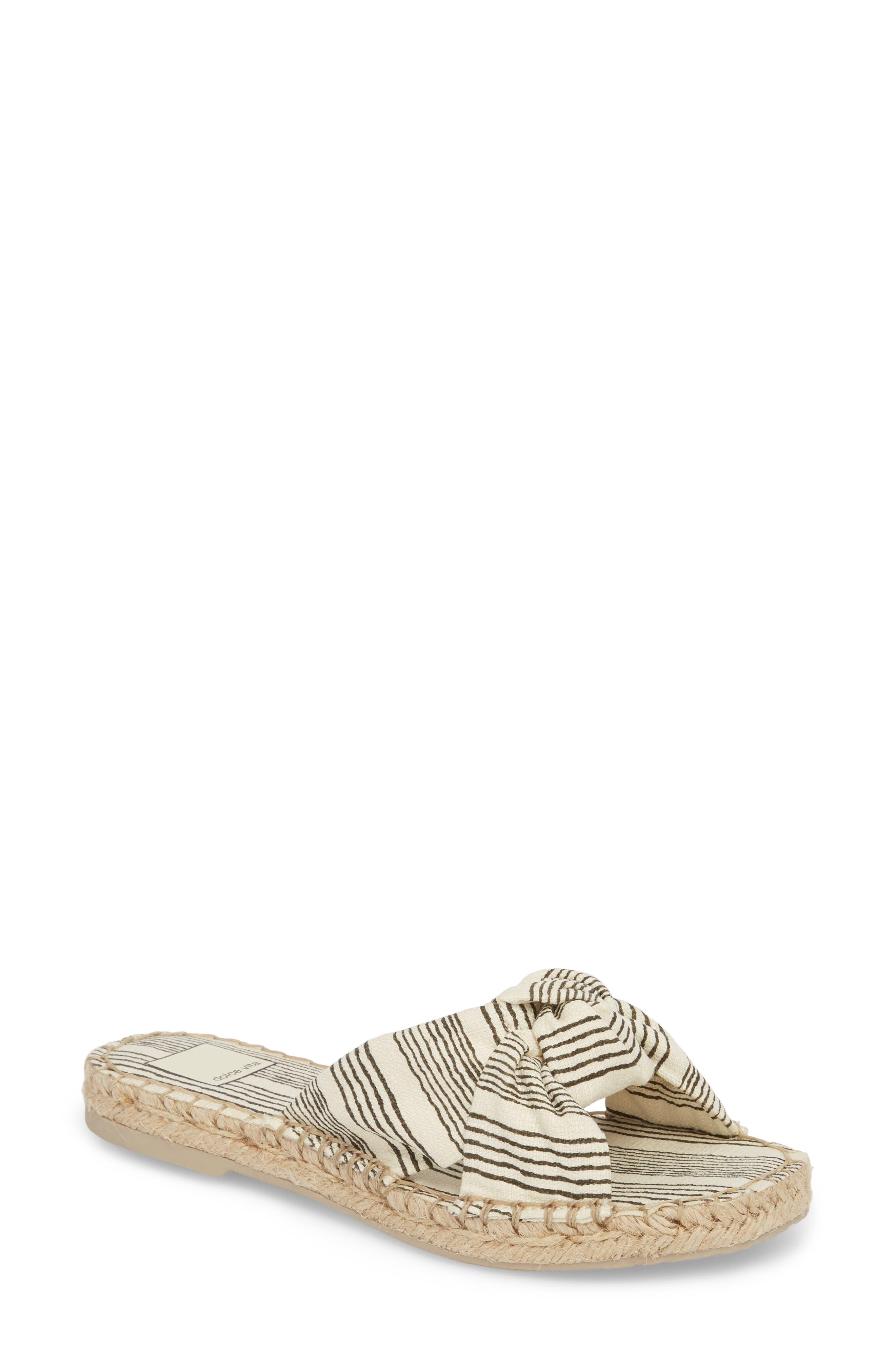 Dolce Vita Women's Benicia Knotted Slide Sandal VZT7QOLLU