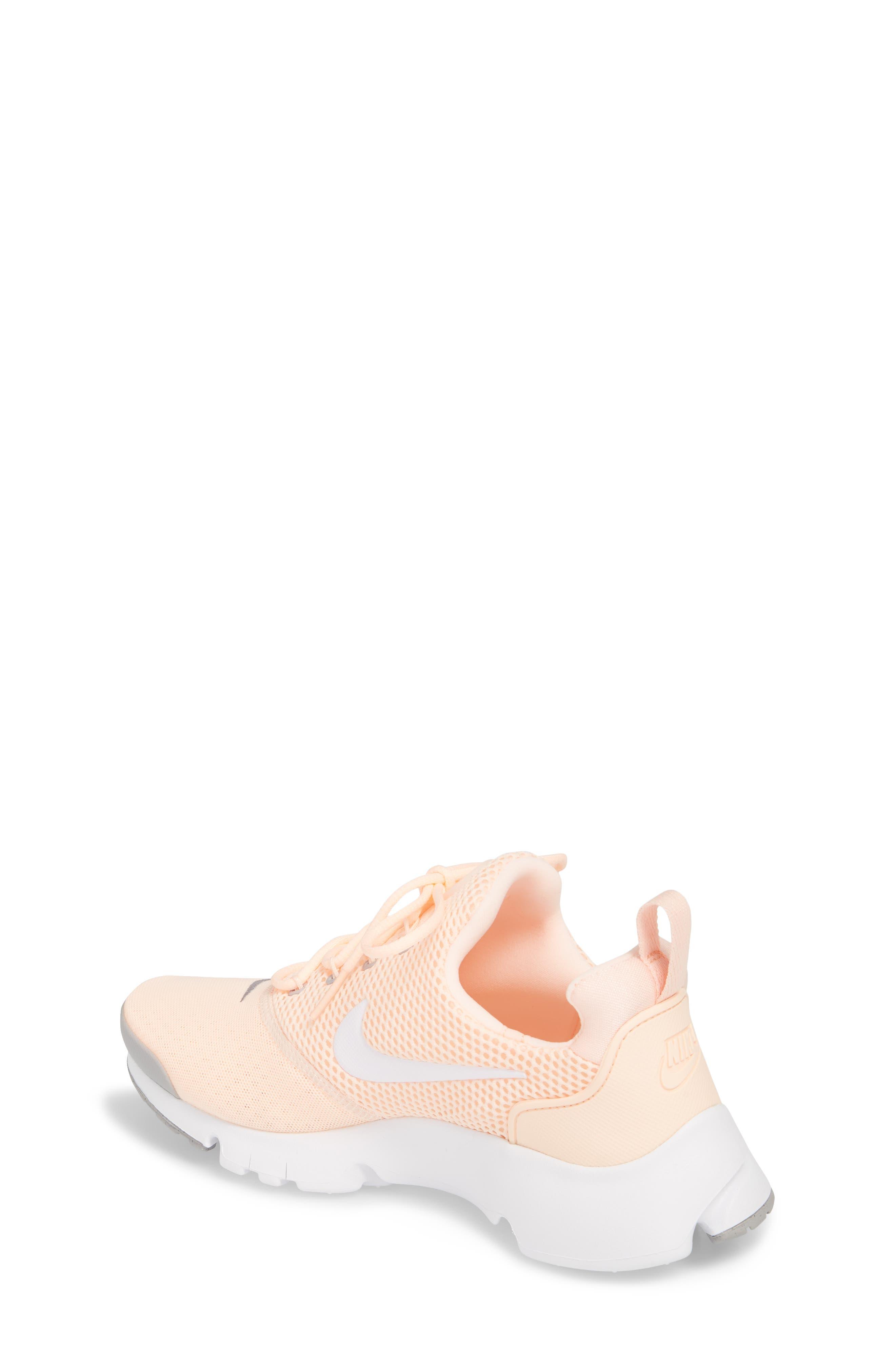 Presto Fly Sneaker,                             Alternate thumbnail 3, color,                             Crimson Tint/ White/ Grey