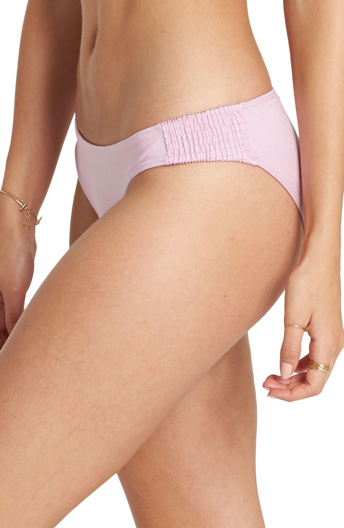 Sol Searcher Lowrider Bikini Bottoms,                             Alternate thumbnail 3, color,                             Wild Lavender