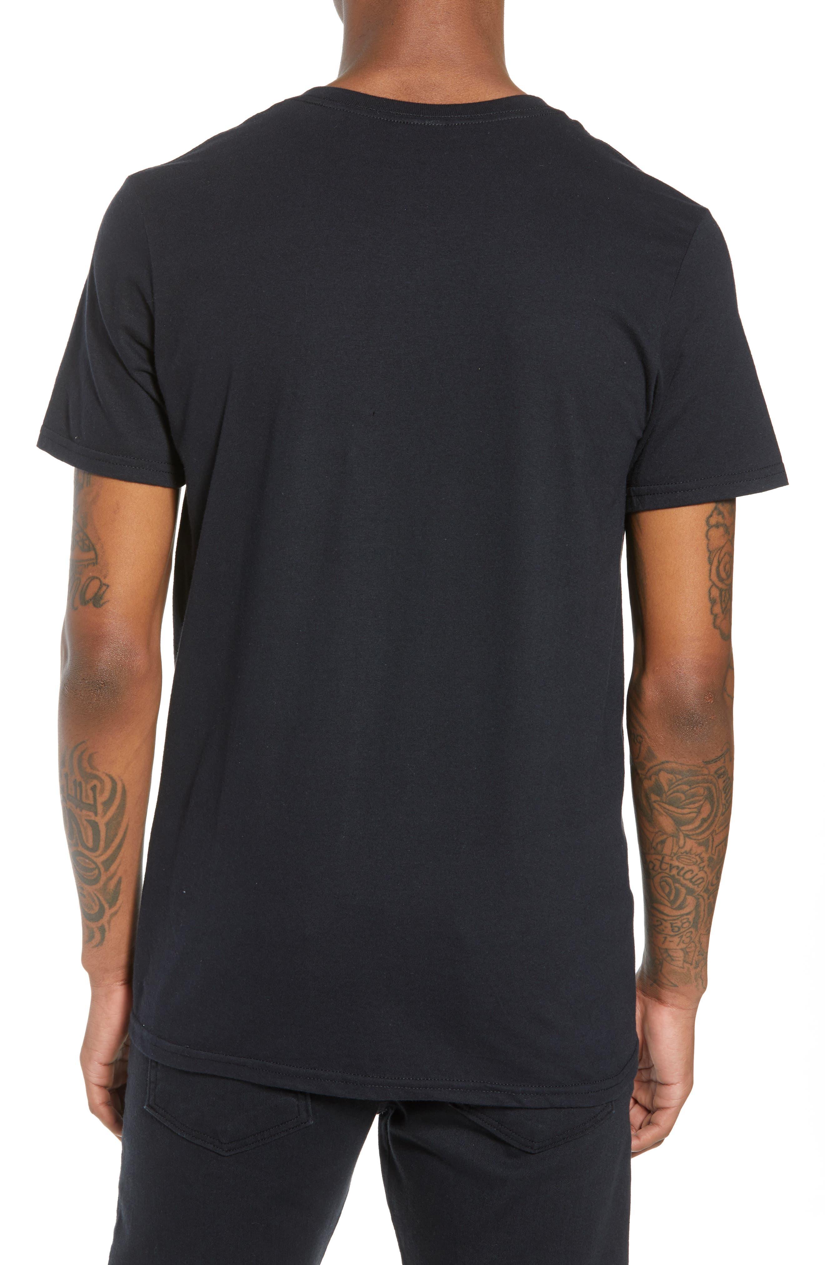 Run-DMC T-Shirt,                             Alternate thumbnail 2, color,                             Black Tee Run Dmc