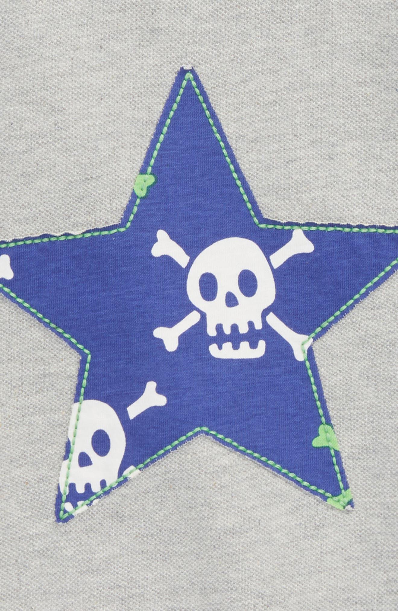 Alternate Image 3  - Mini Boden Skull Star Piqué Polo (Toddler Boys, Little Boys & Big Boys)