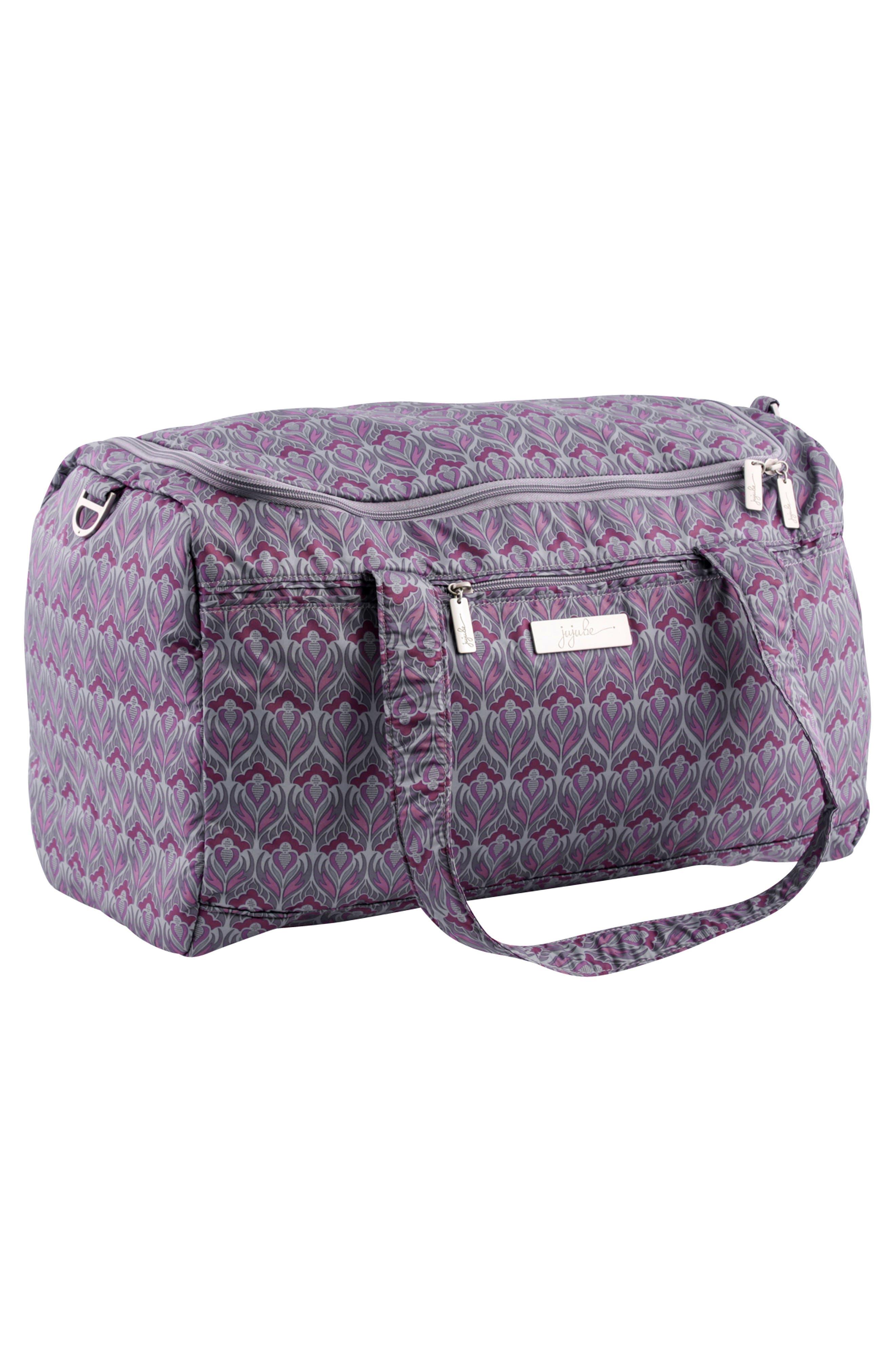 'Starlet' Travel Diaper Bag,                             Alternate thumbnail 3, color,                             Amethyst Ice
