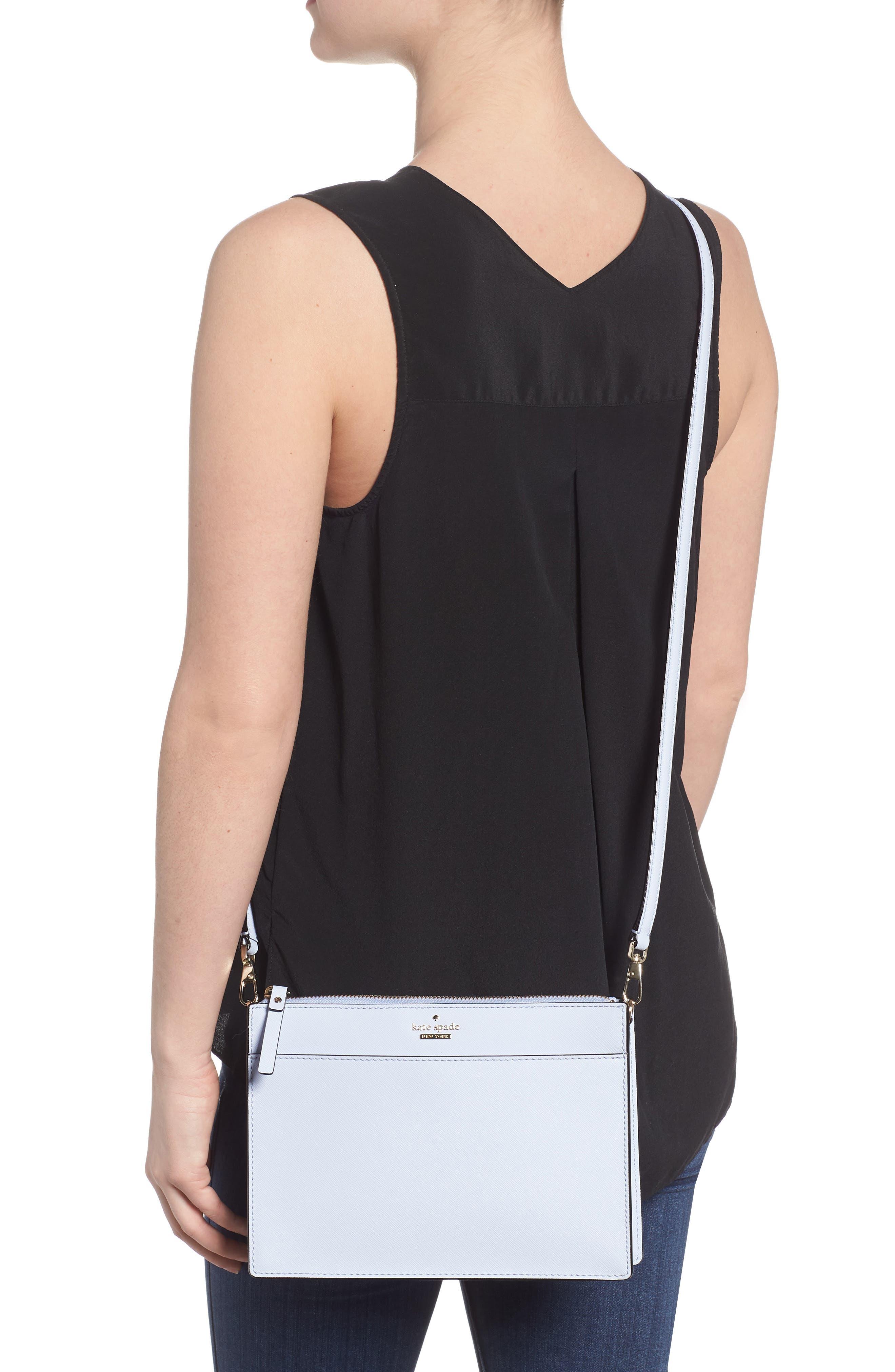 cameron street clarise leather shoulder bag,                             Alternate thumbnail 2, color,                             Morning Dawn