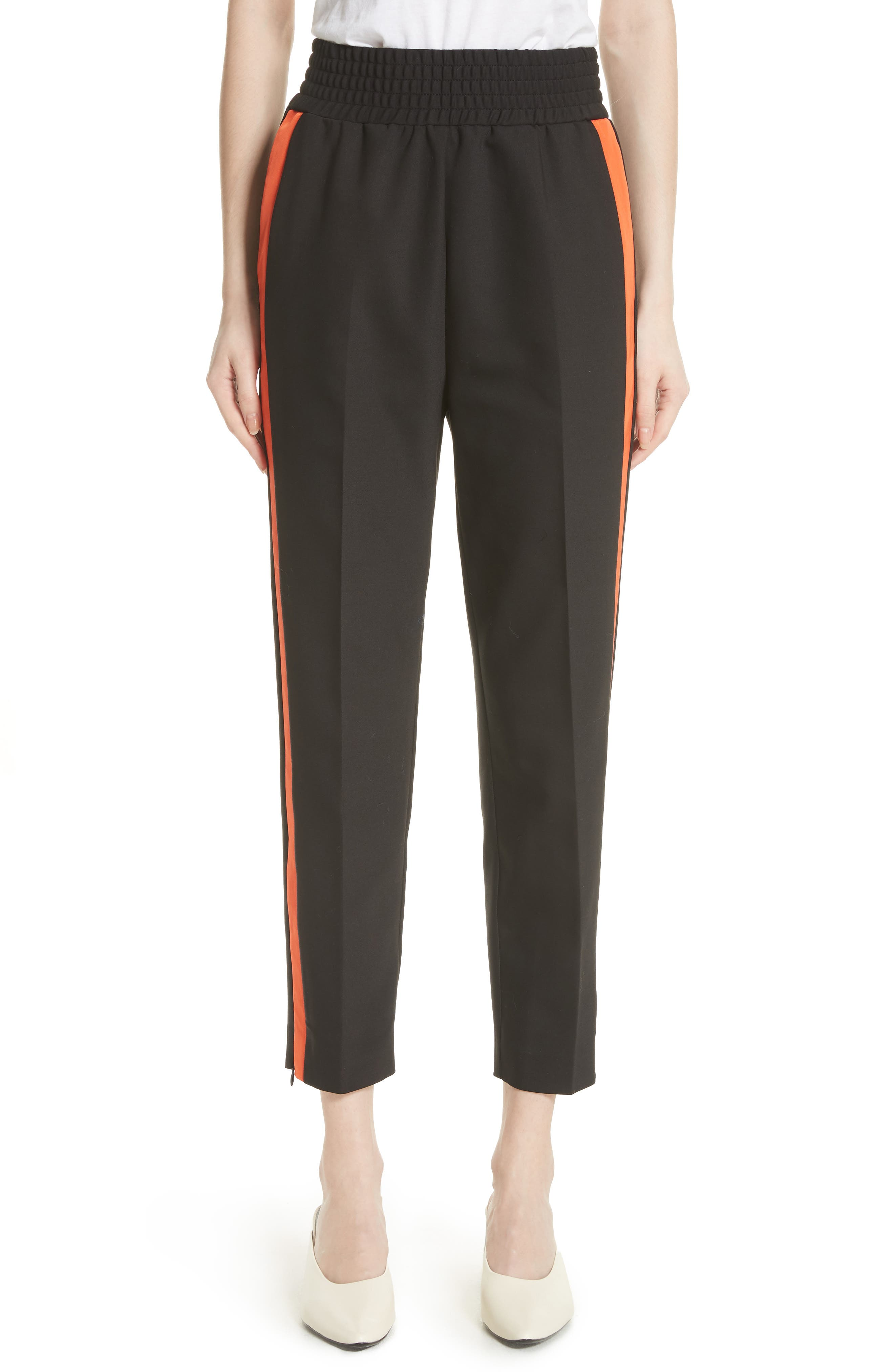 Pensee Track Pants,                         Main,                         color, Black 210