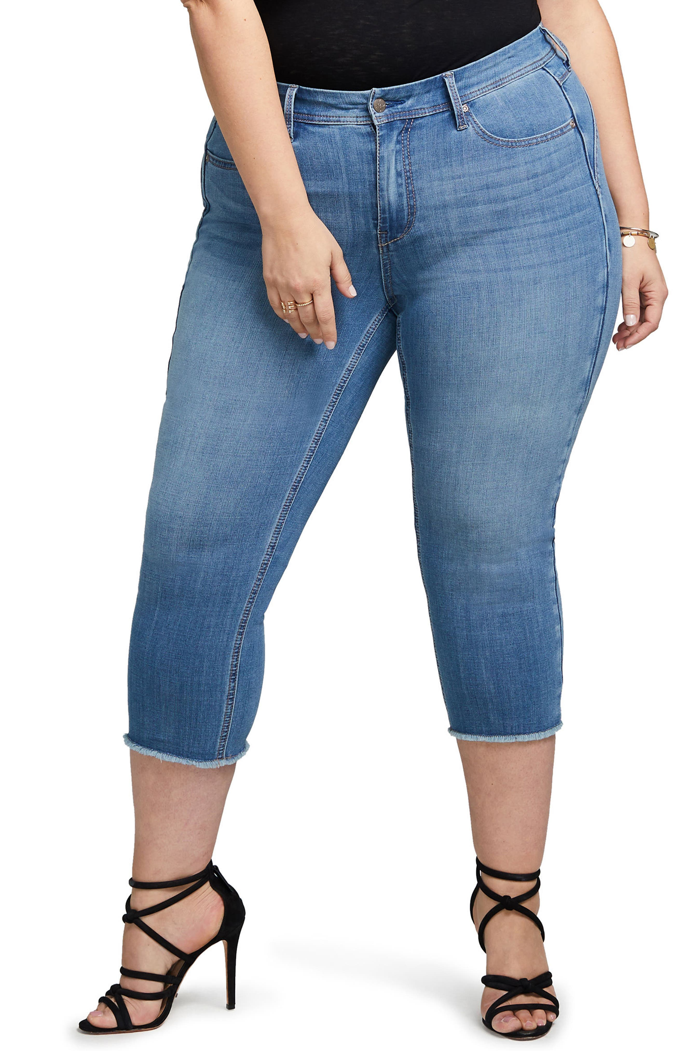 Crop Skinny Jeans,                         Main,                         color, Iliad