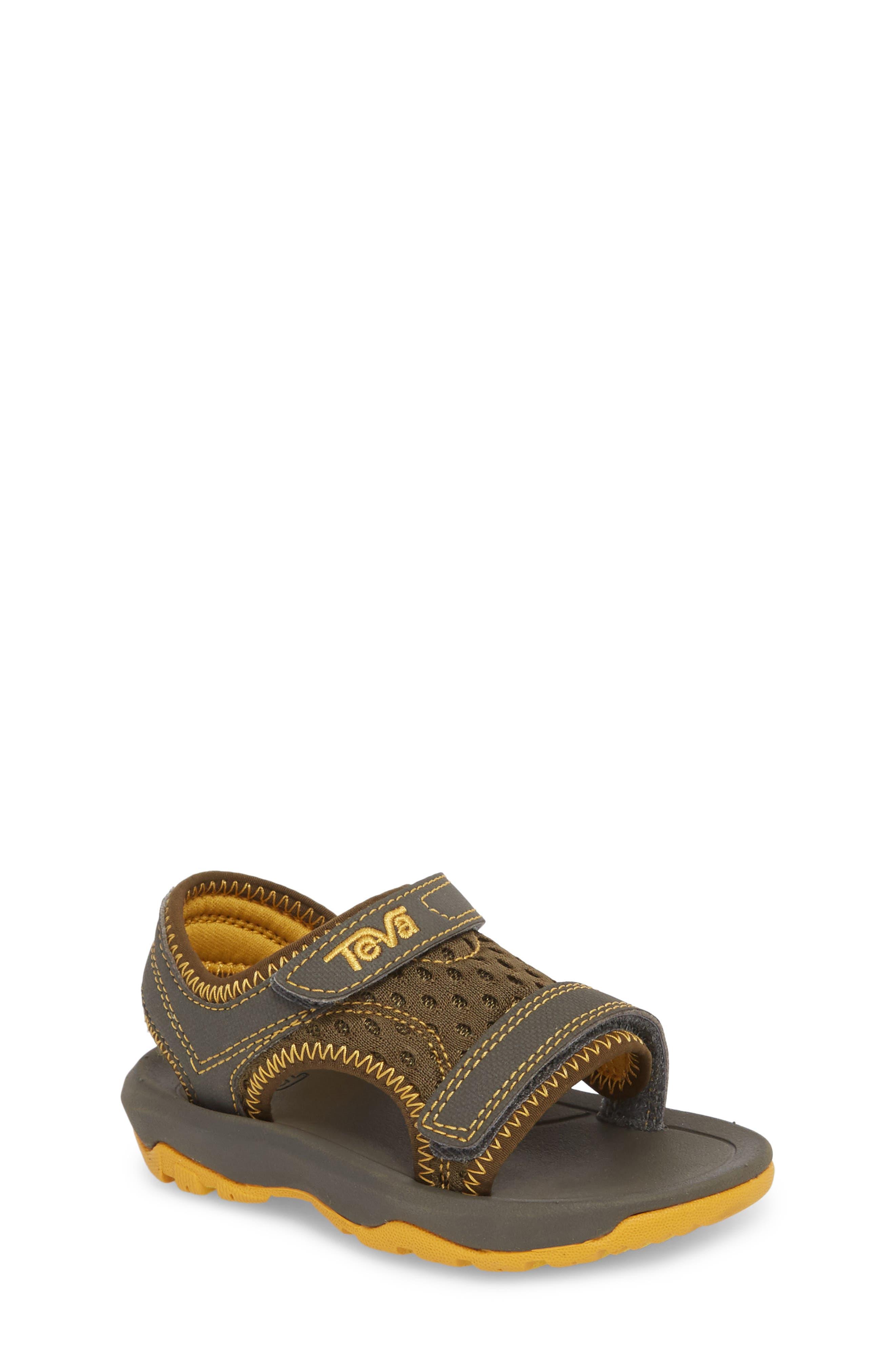 Psyclone XLT Sandal,                         Main,                         color, Dark Olive