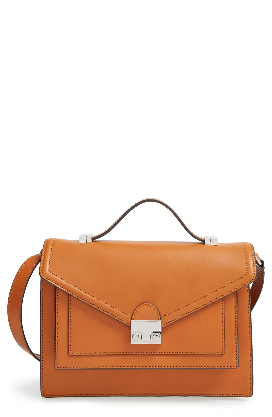 Loeffler Randall 'Rider' Convertible Leather Satchel
