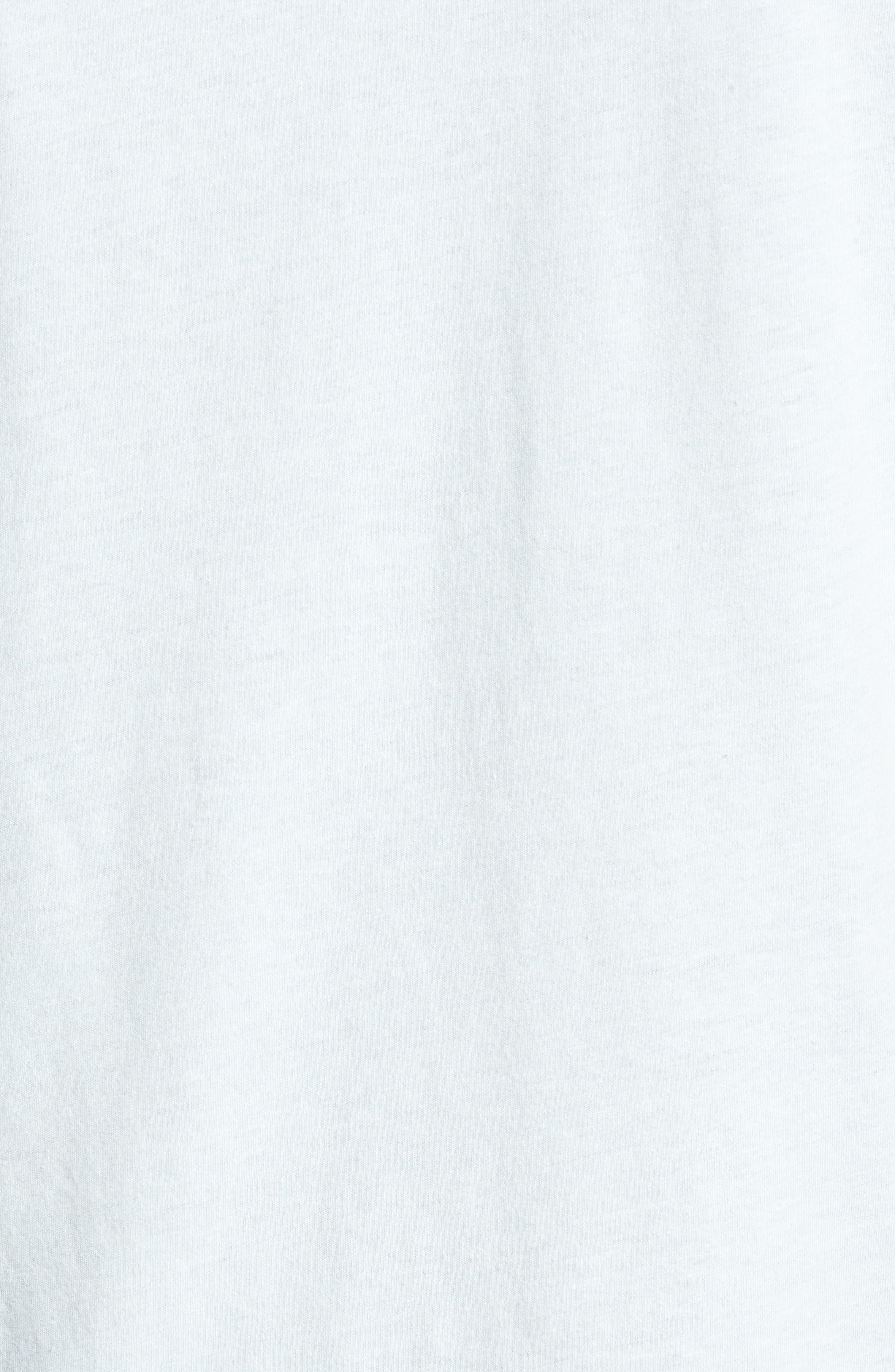Happy Daze T-Shirt,                             Alternate thumbnail 5, color,                             Pastel Blue