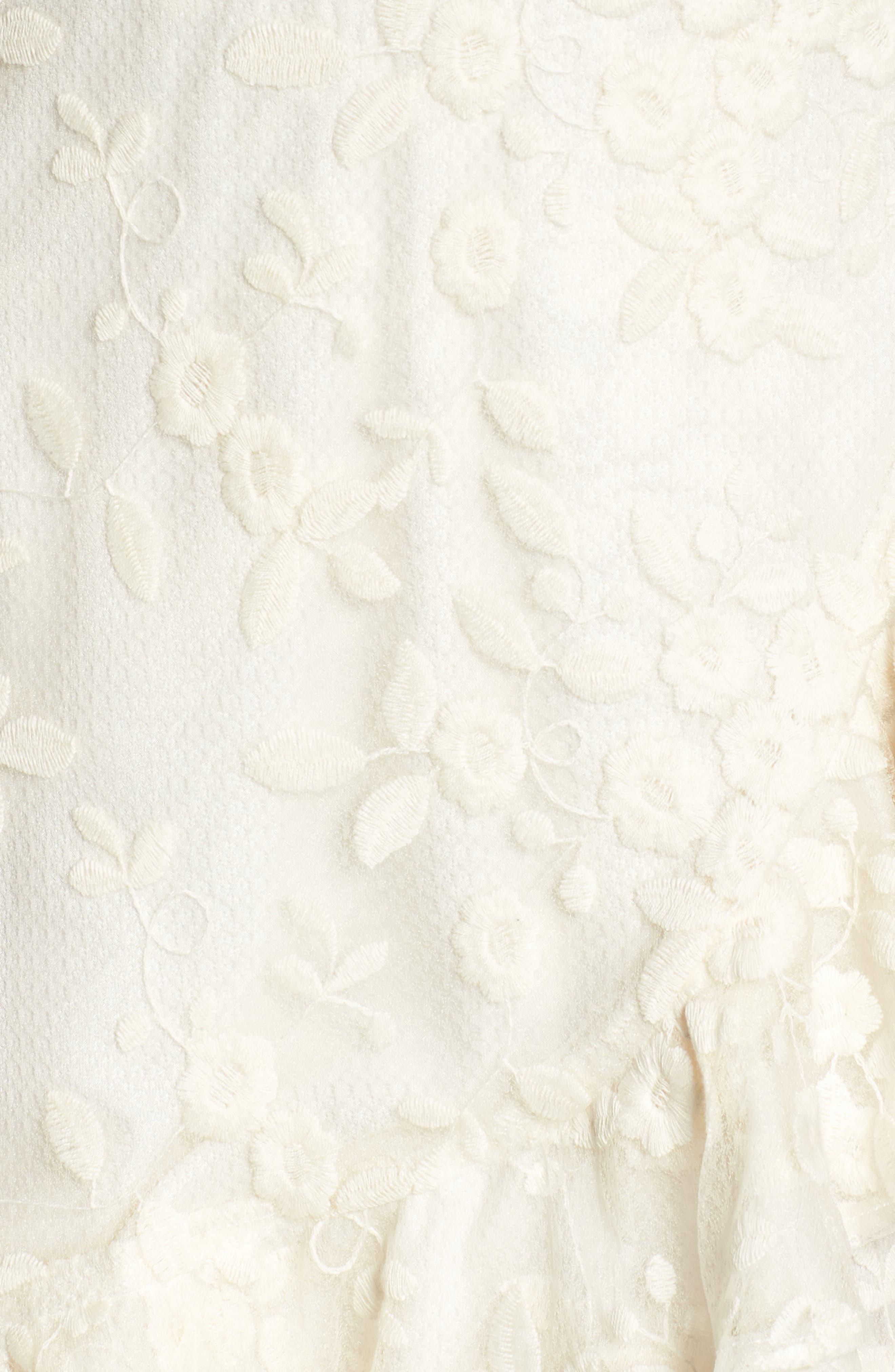 Alternate Image 5  - BB Dakota Harlow Ruffle Minidress