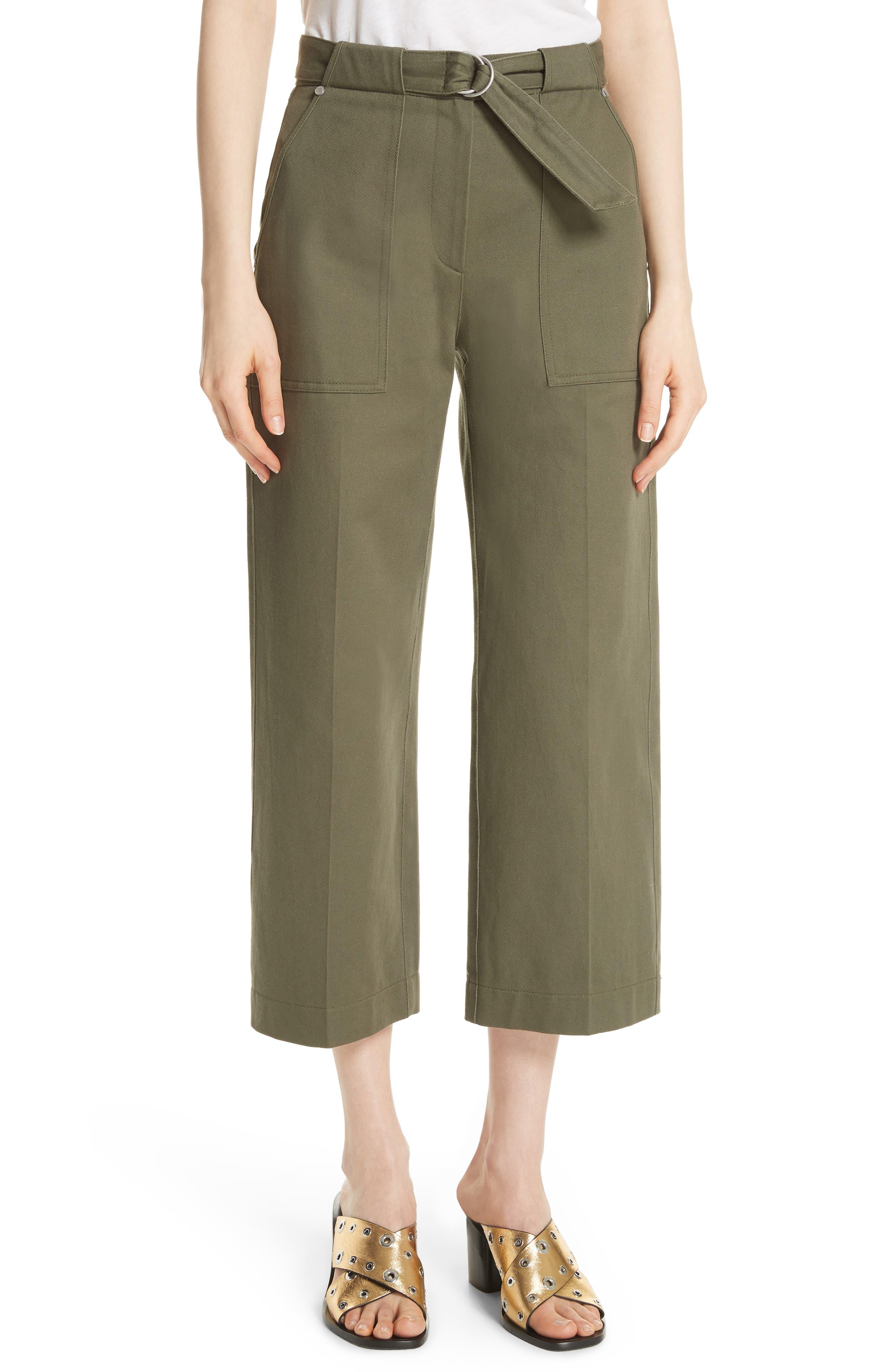 rag & bone Lora Wide Leg Utility Pants