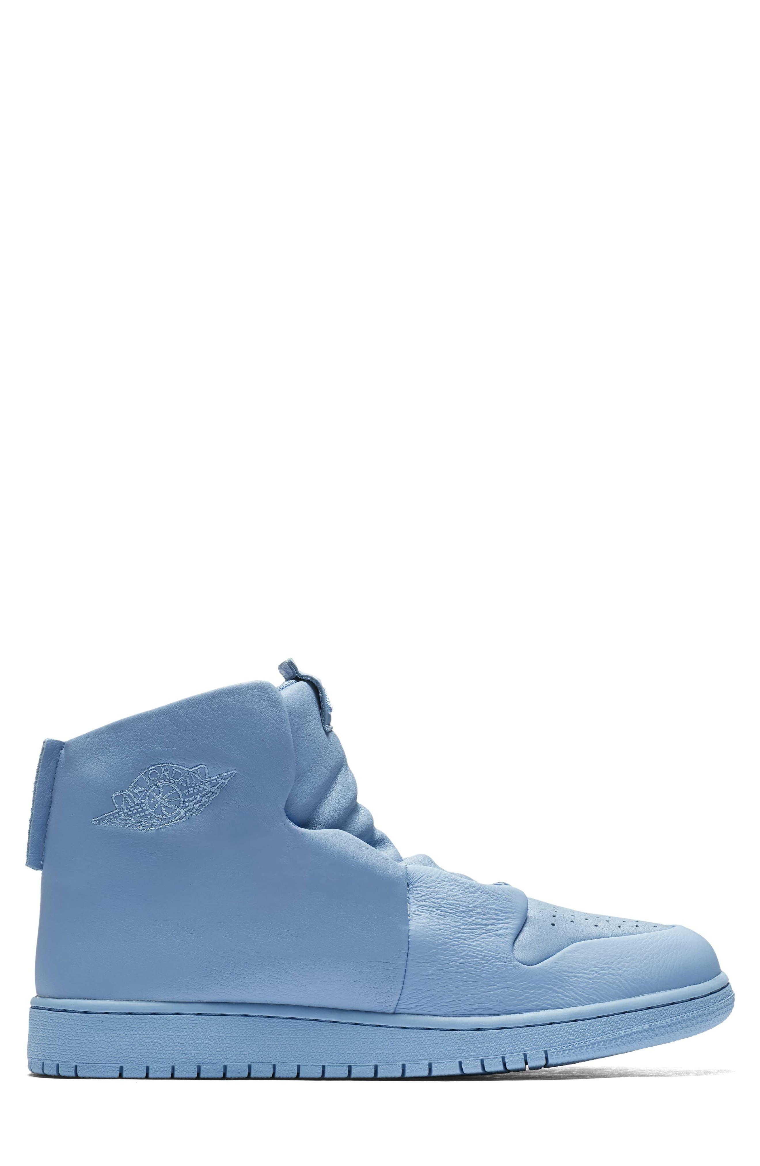Air Jordan 1 Sage XX High Top Sneaker,                             Alternate thumbnail 3, color,                             Light Blue