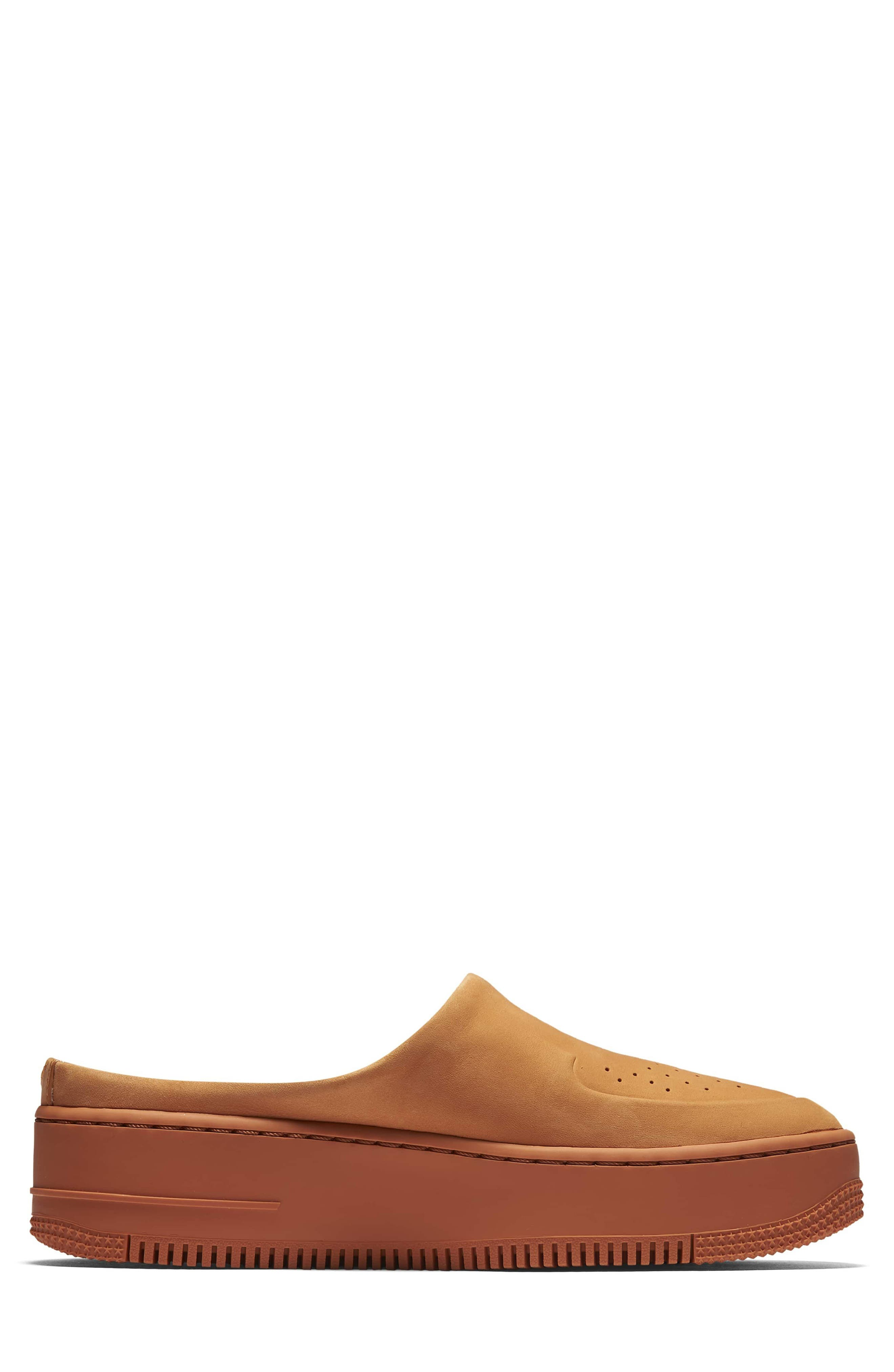 Air Force 1 Lover XX Slip-On Mule Sneaker,                             Alternate thumbnail 3, color,                             Cinder Orange