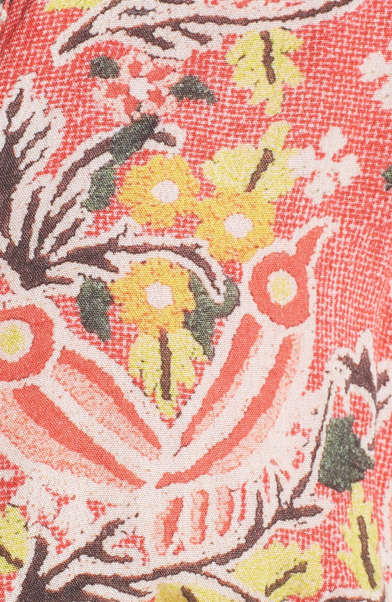 Hemant & Nandita Short Cover-Up Dress,                             Alternate thumbnail 5, color,                             Pinar